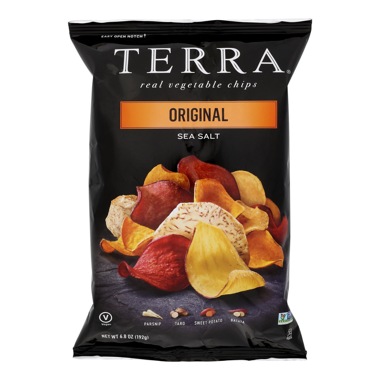 Terra Chips Exotic Vegetable Chips - Original - Case of 12 - 6.8 oz.