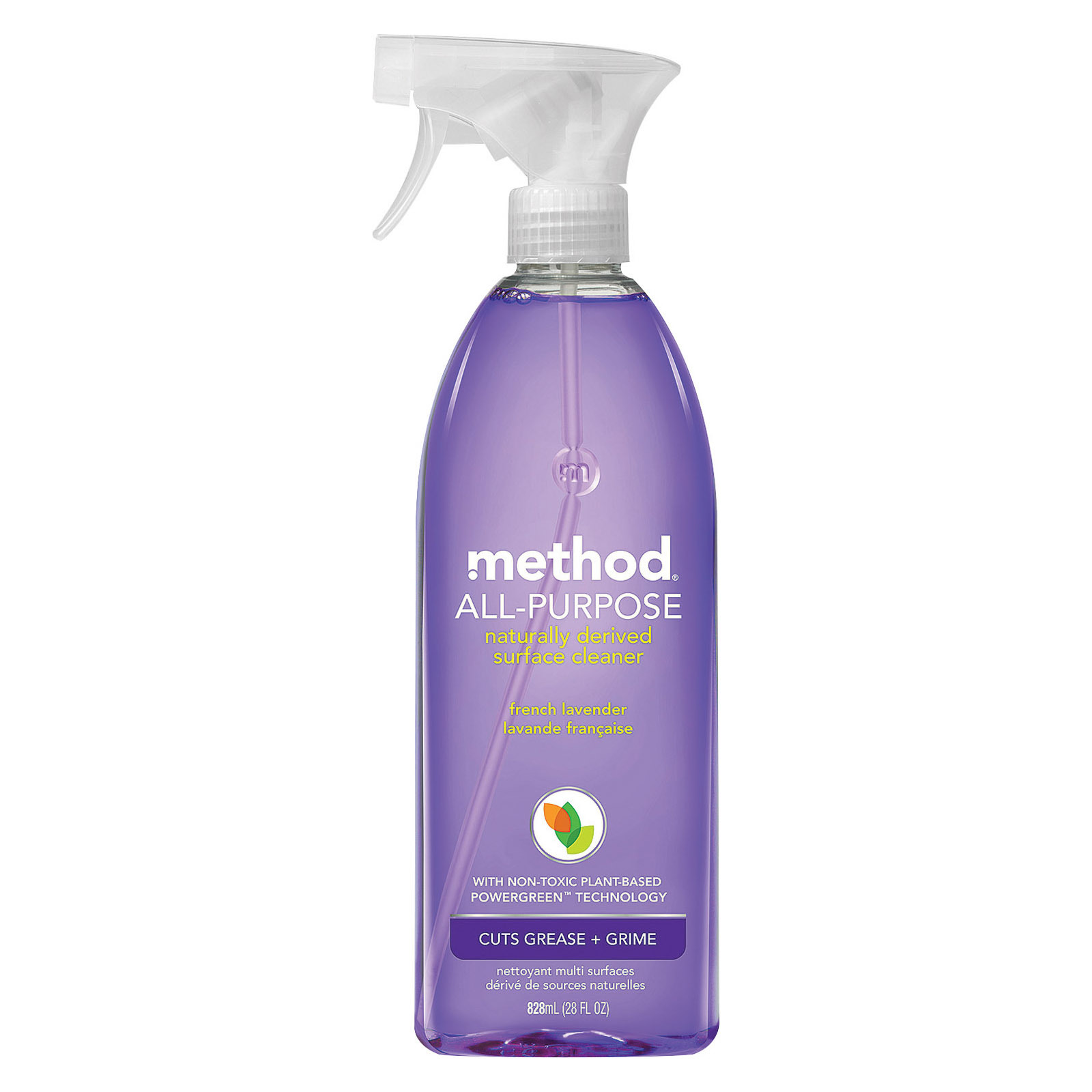Method Products Inc Spray Cleaner - A/P - Lavender - Case of 8 - 28 fl oz
