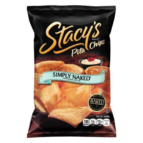 Stacey's Pita Chips - Simply Naked - 1 oz - Case of 72