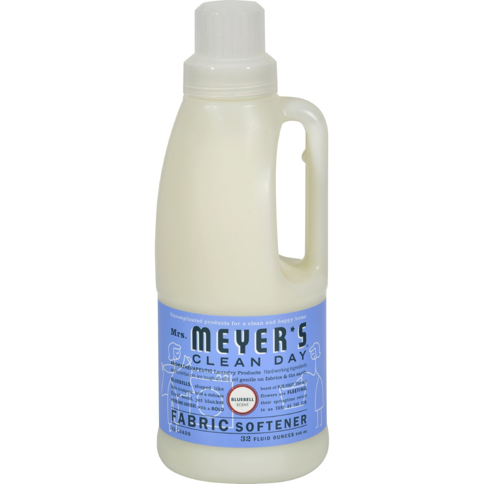Mrs. Meyer's Clean Day - Fabric Softener - Bluebell - Case of 6 - 32 oz