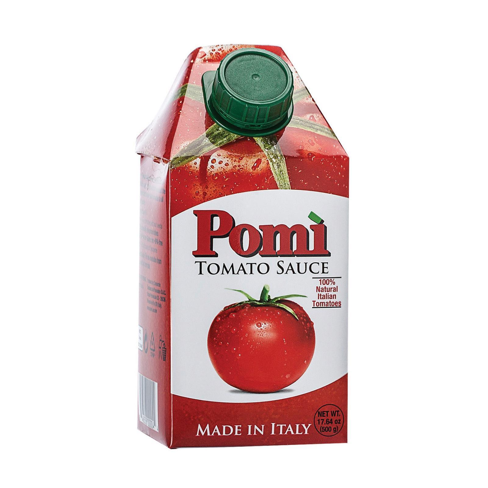Pomi Tomatoes Tomato Sauce - Case of 12 - 17.64 Fl oz.
