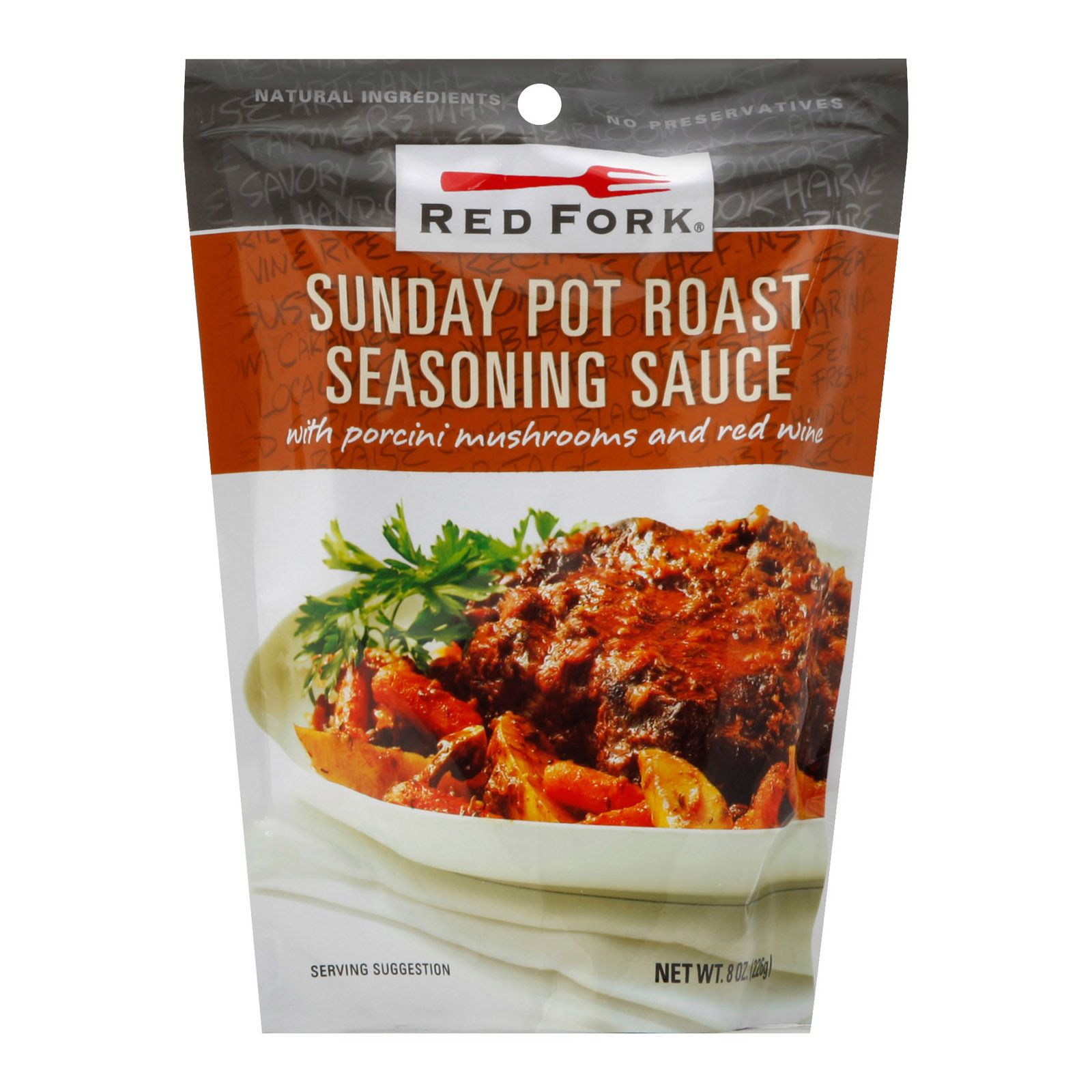 Red Fork Seasoning Sauce -Sunday Potato Roast - Case of 6 - 8 oz