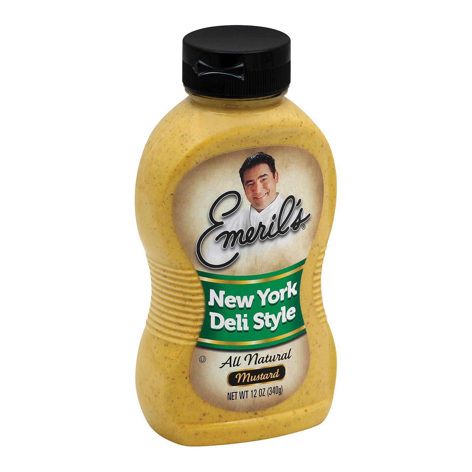 Emeril Mustard - New York Deli Style - 12 oz.
