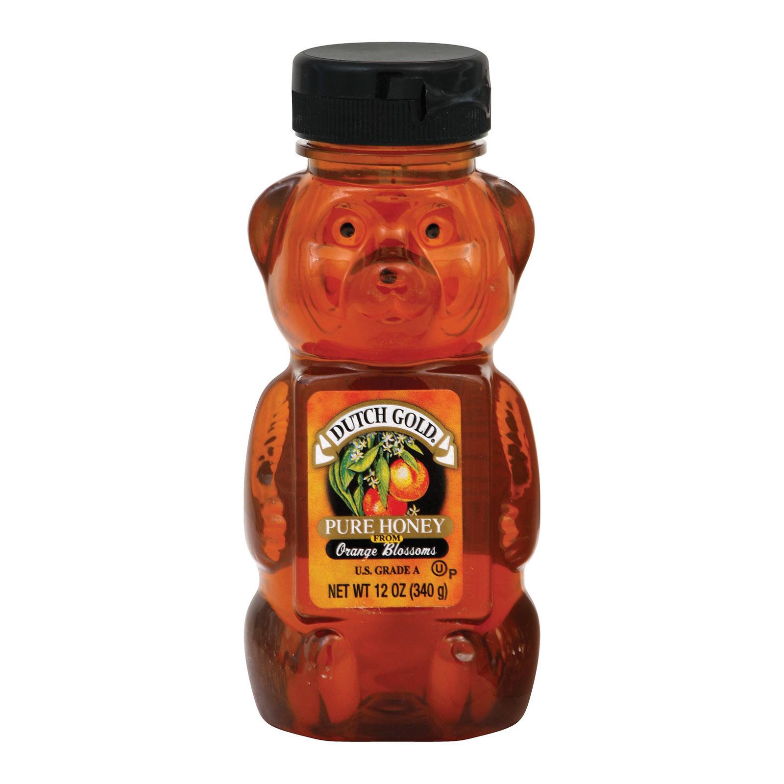 Dutch Gold Honey Orange Blossom Honey - 12 oz.