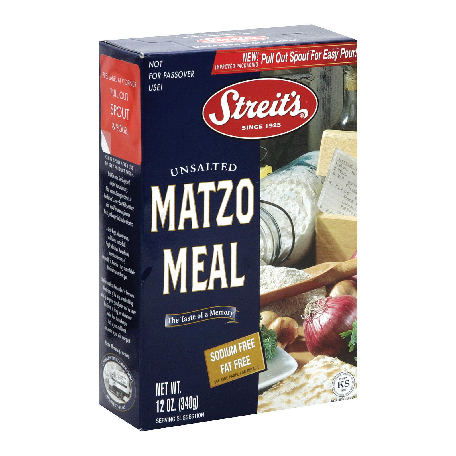 Streit's Matzo - Meal - 12 oz.