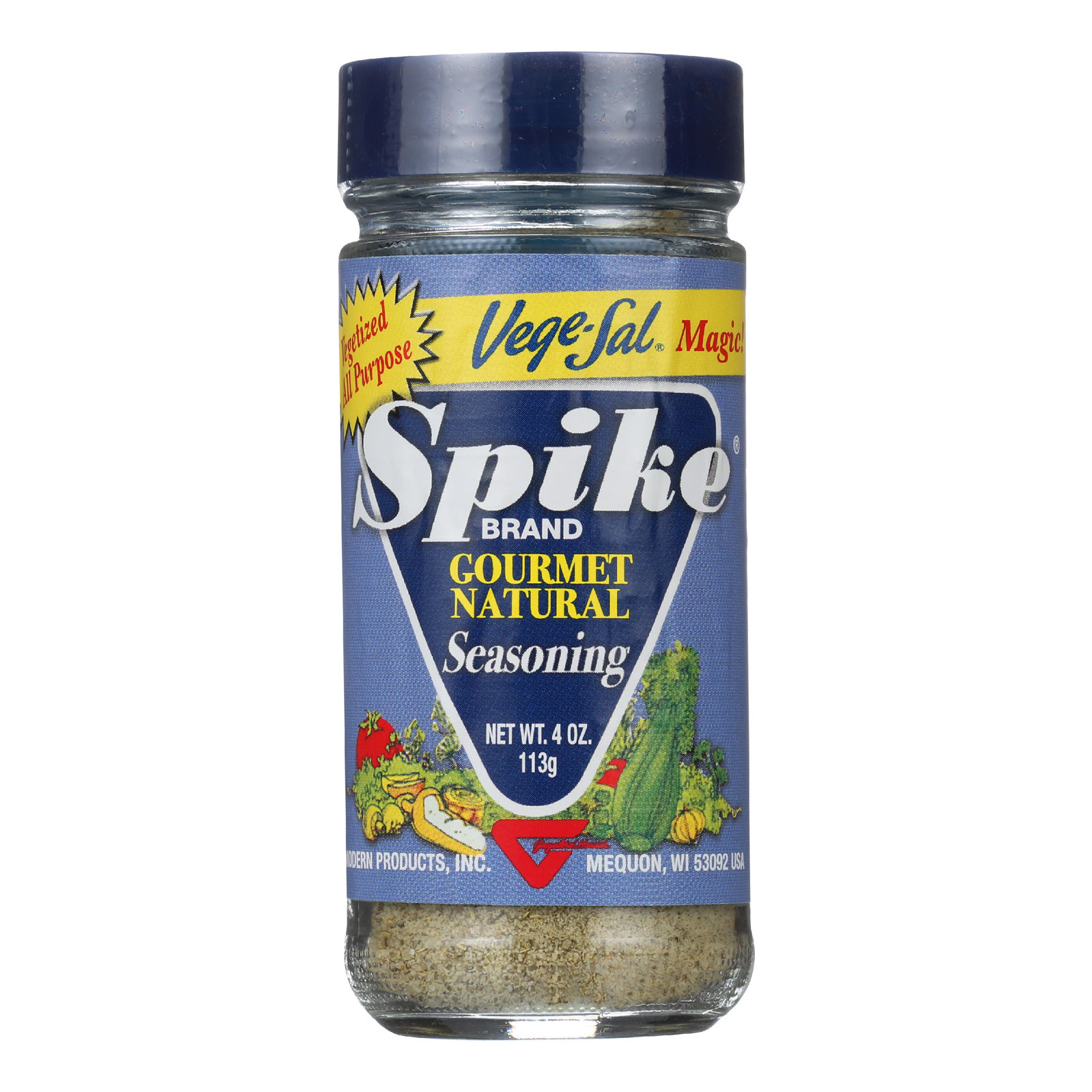 Modern Products Spike Gourmet Natural Seasoning - Vege Sal Magic - 4 oz - Case of 6