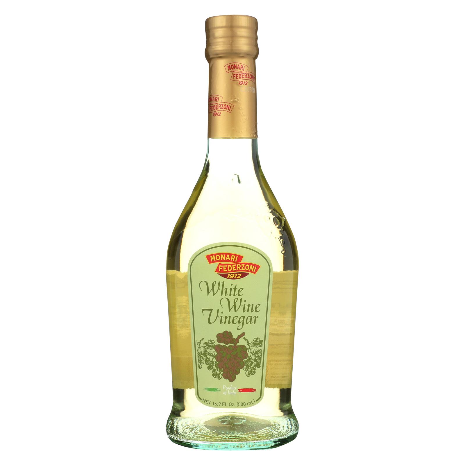 Monari Federzoni White Wine Vinegar - Case of 6 - 16.9 Fl oz.
