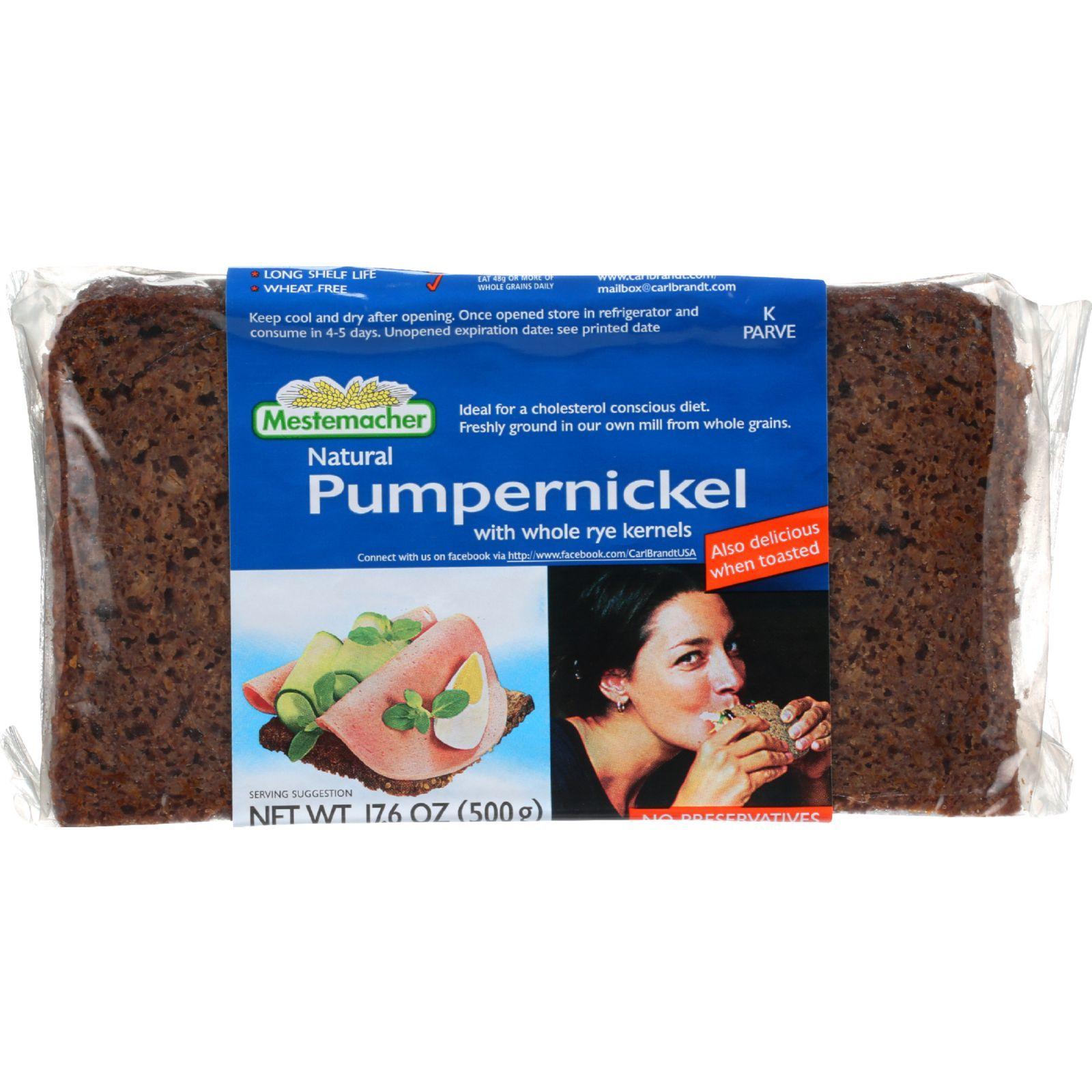 Mestemacher Bread Bread - Westphalian Classic - Pumpernickel - 17.6 oz - 1 each