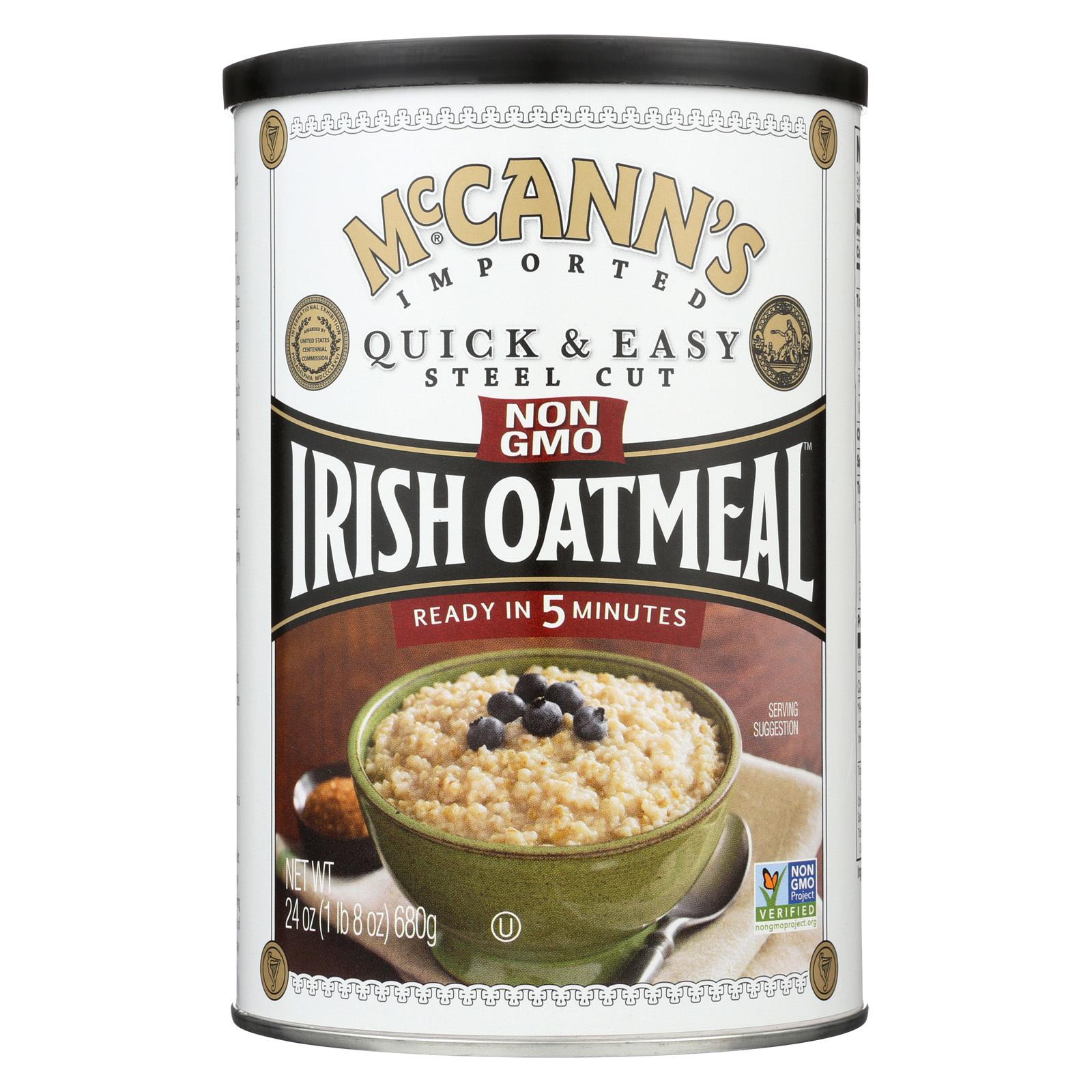 McCann's Irish Oatmeal Steel Cut Oatmeal - 24 oz.