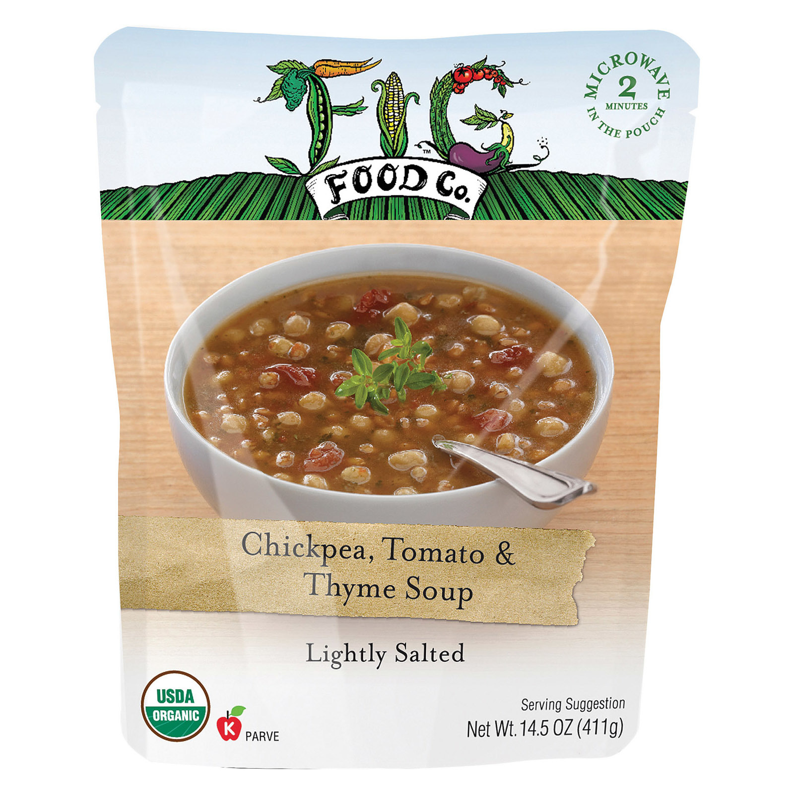Fig Food Organic Chickpeas Beans - Case of 6 - 15 oz.