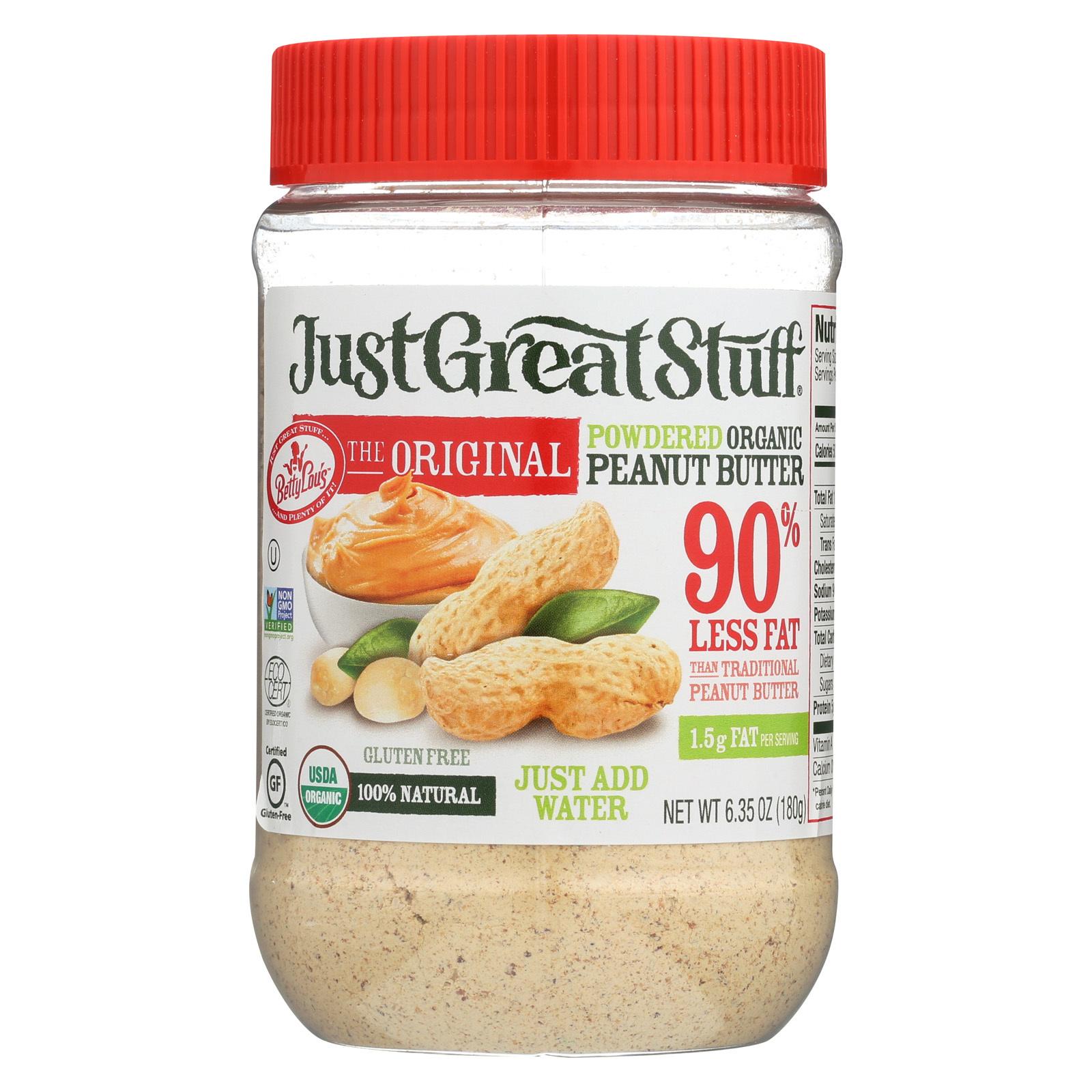 Just Great Stuff Organic Powdered Peanut Butter - 6.35 oz.