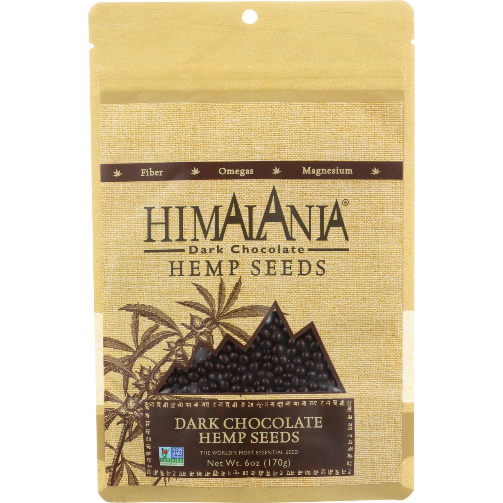 Himalania Hemp Seeds -Dark Chocolate - Case of 12 - 6 oz