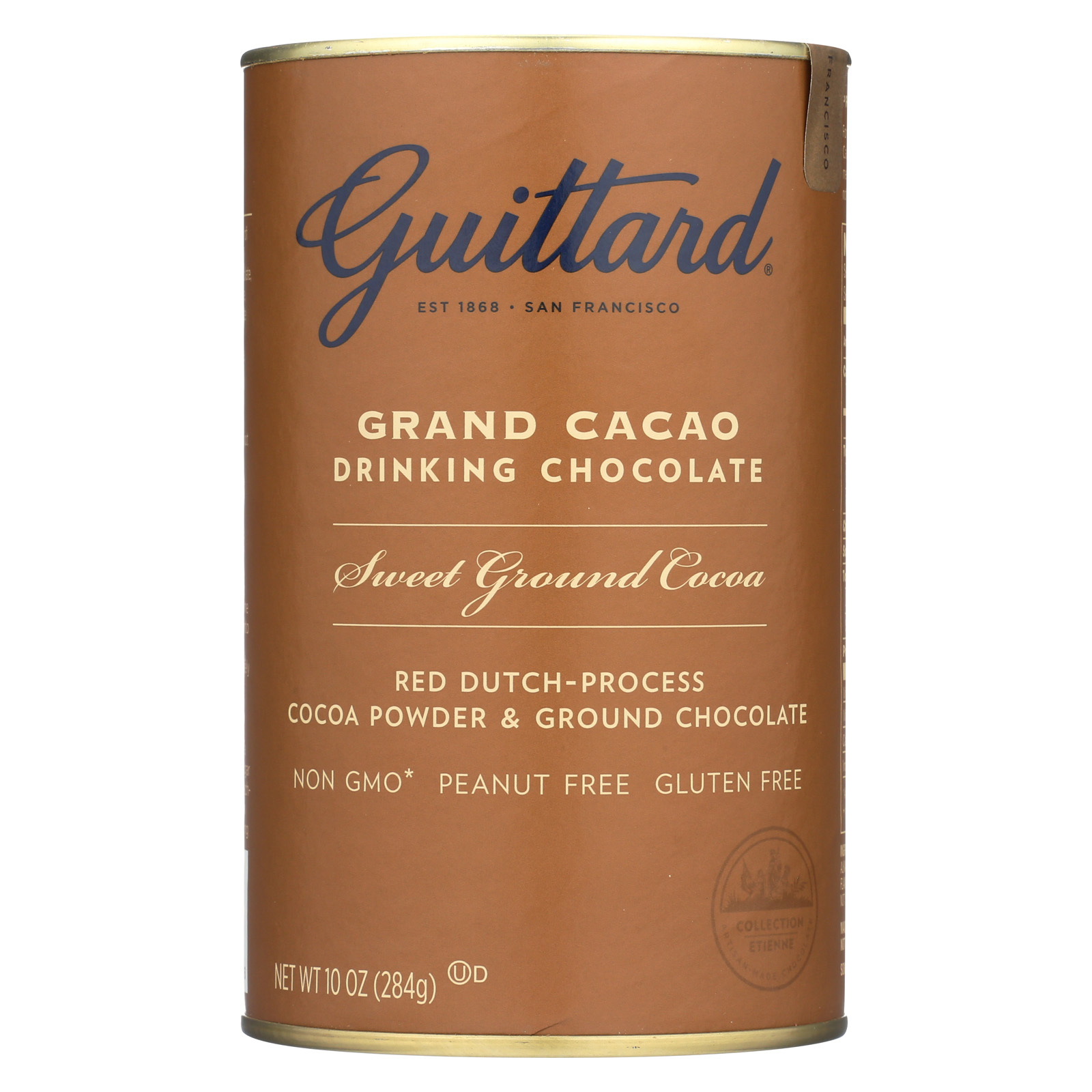 Guittard Chocolate Grand Cacao - Drinking Chocolate - Case of 6 - 10 oz.