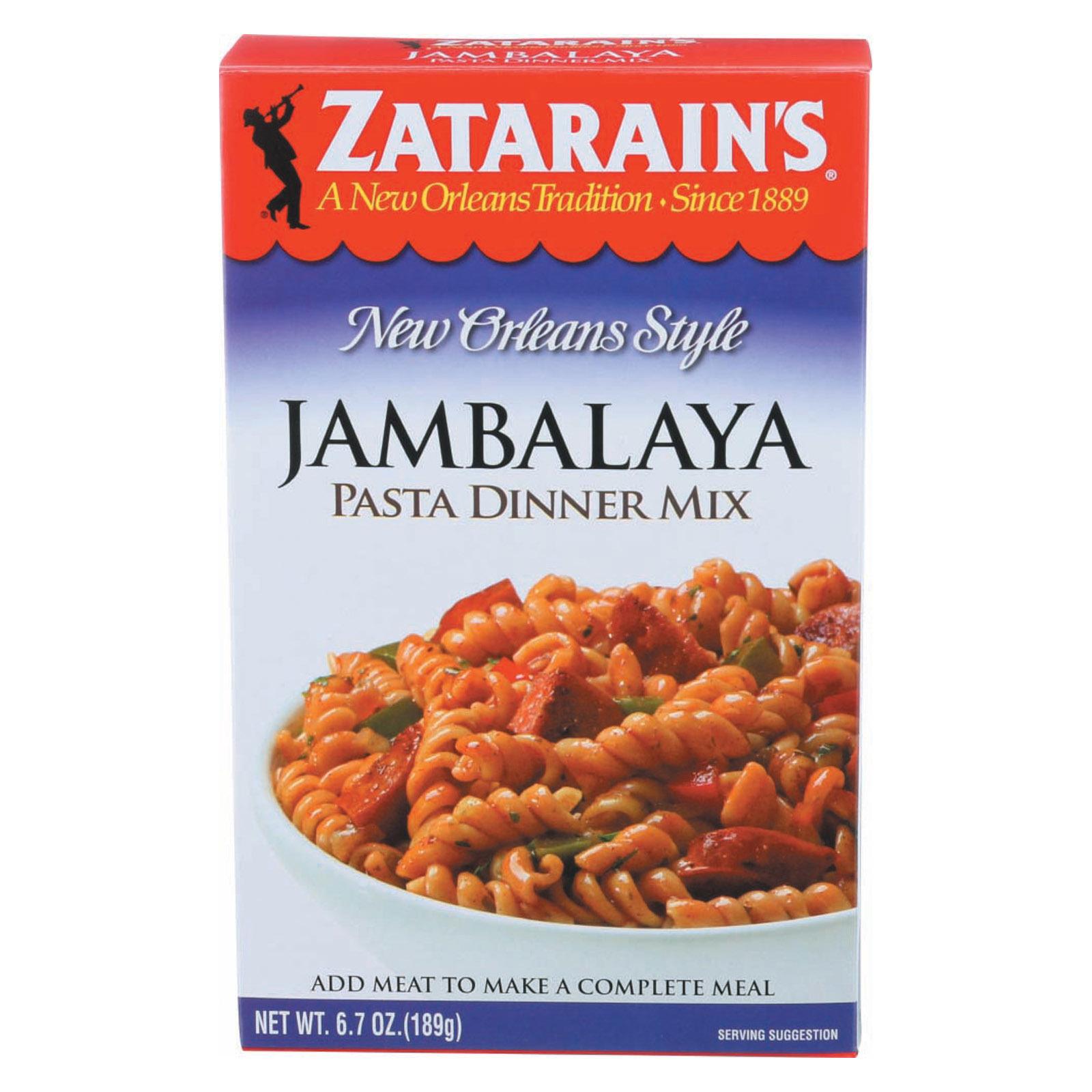 Zatarain's New Orleans Jambalaya - Case of 8 - 6.7 oz