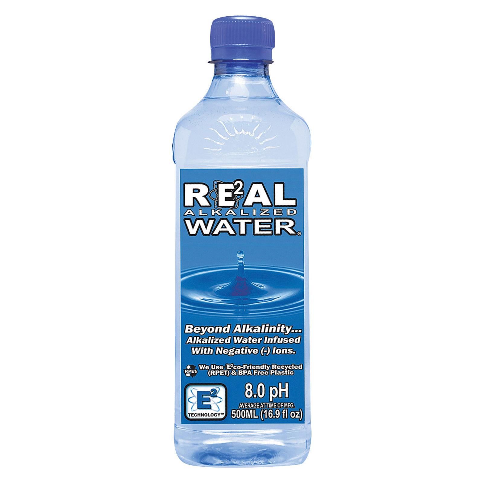 Real Water Alkalized Water, 16.9 Fl oz