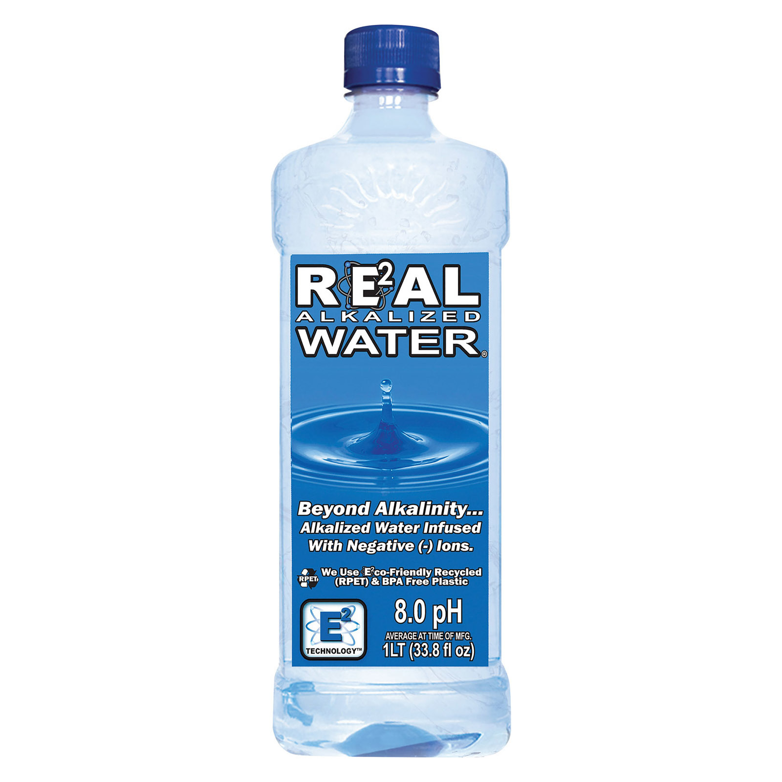 Real Water Alkalized Water, 1 Liter