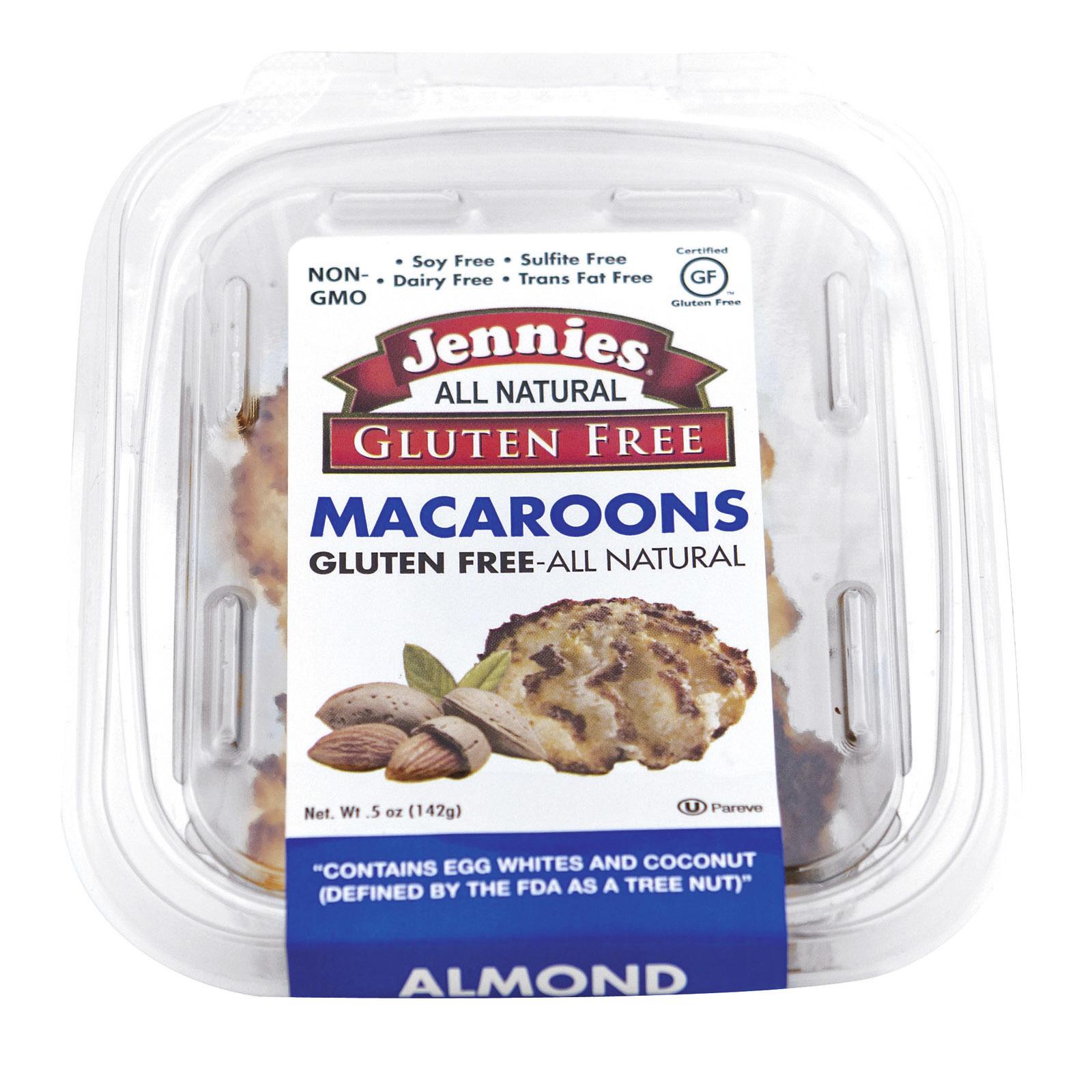Jennie's Almond Mini Gluten - Almond - Case of 12 - 5 oz.