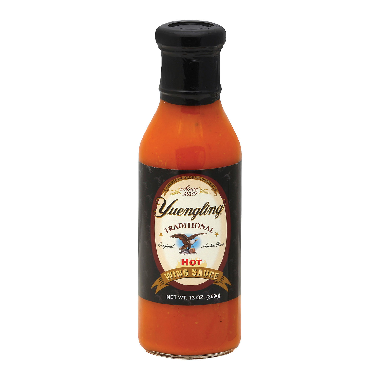 Yuengling Sauces Wing Sauce - Hot - Case of 6 - 13 oz.
