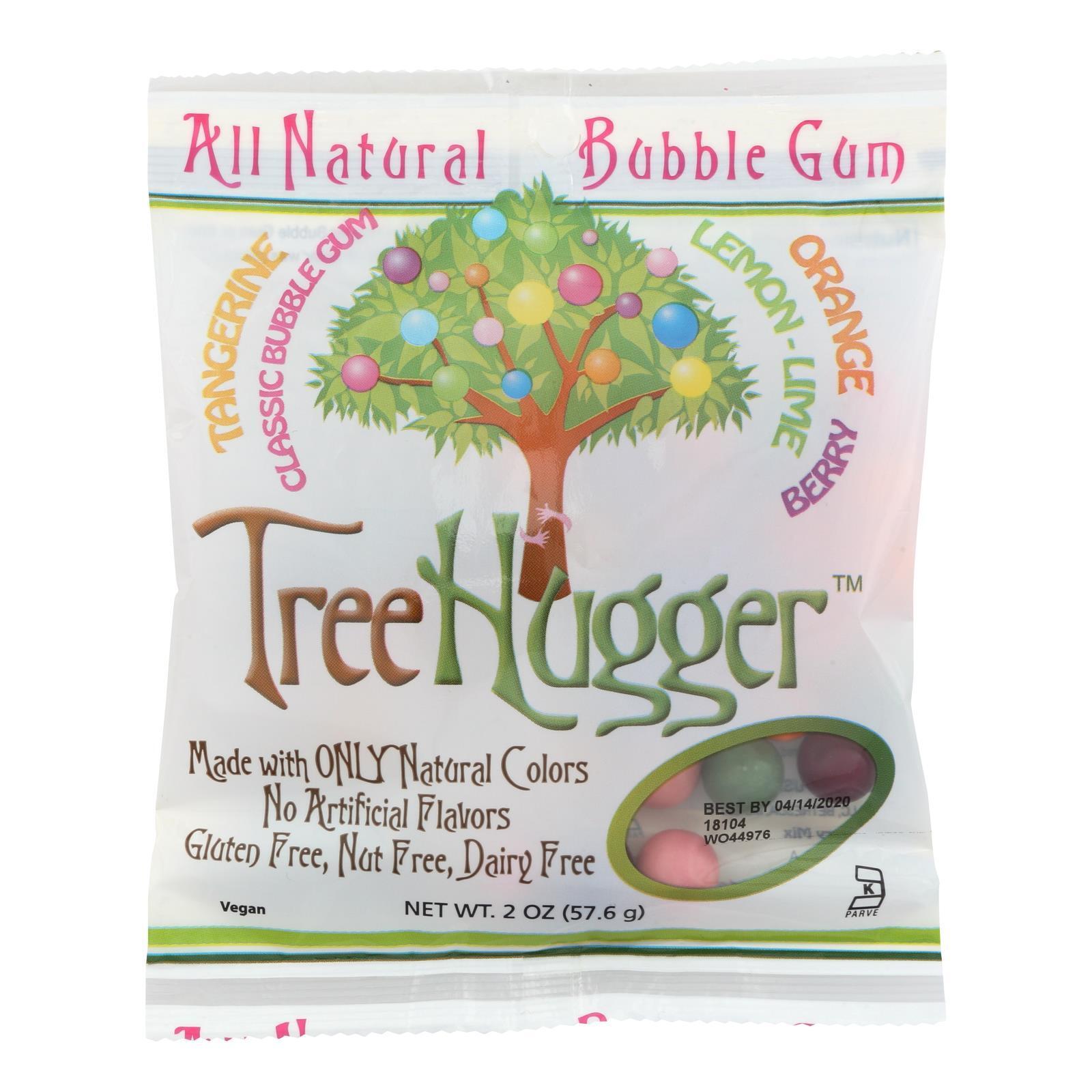Tree Hugger Bubble Gum - Citrus Berry - 2 oz - Case of 12