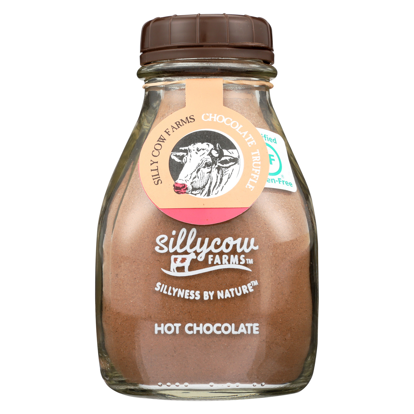 Sillycow Farms Hot Chocolate - Chocolate Truffle - Case of 6 - 16.9 oz.