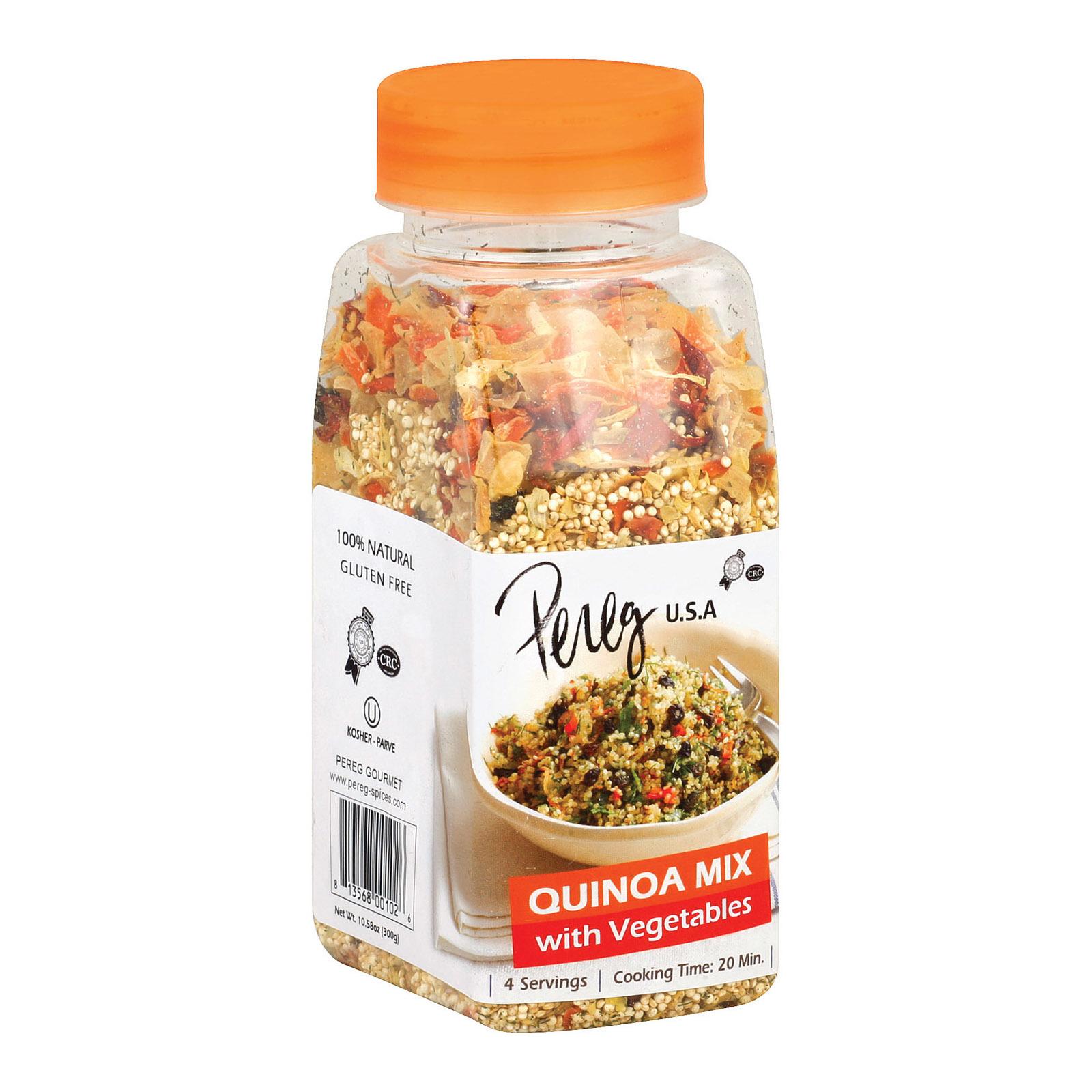 Pereg Quinoa with Vegetables - Case of 6 - 10.58 oz.