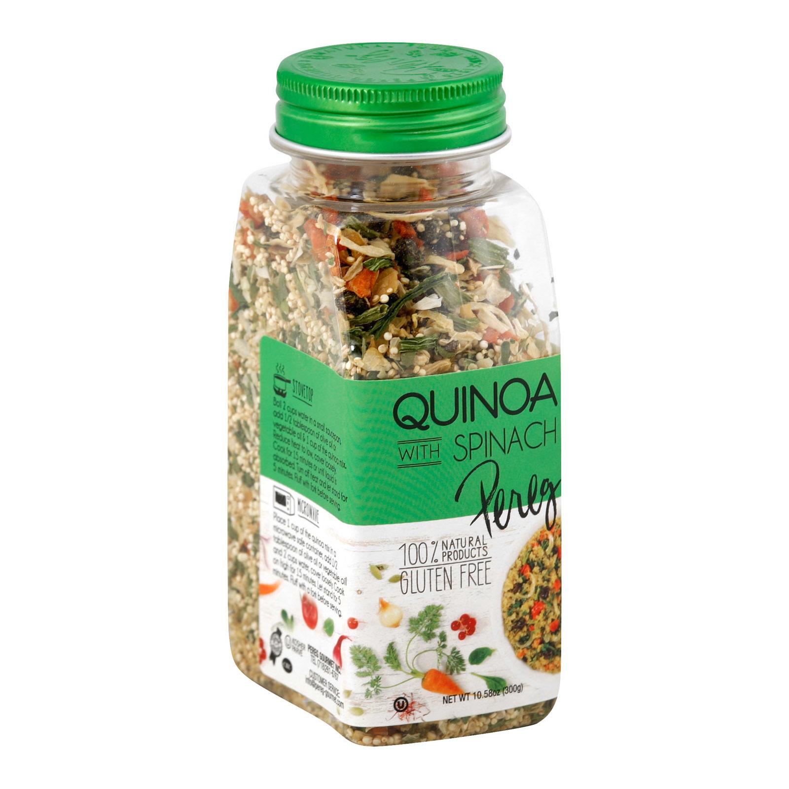 Pereg Quinoa with Spinach - Case of 6 - 10.58 oz.