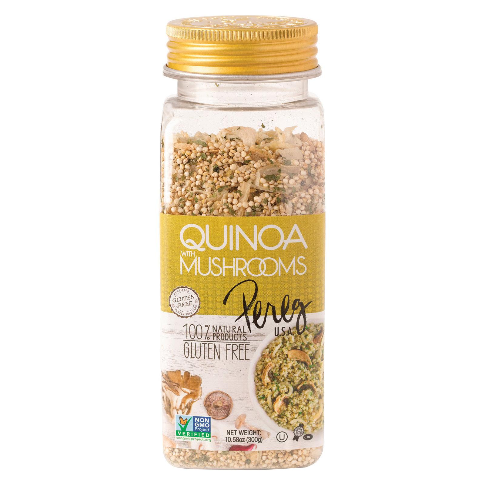 Pereg Quinoa with Mushrooms - Case of 6 - 10.58 oz.