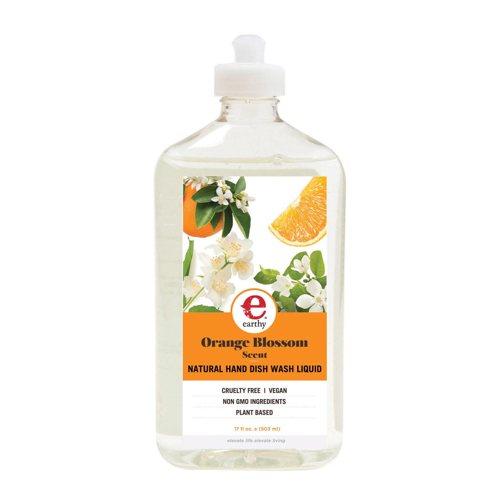 Earthy Dish Liquid - Natural Orange Blossom - Case of 6 - 17 fl oz