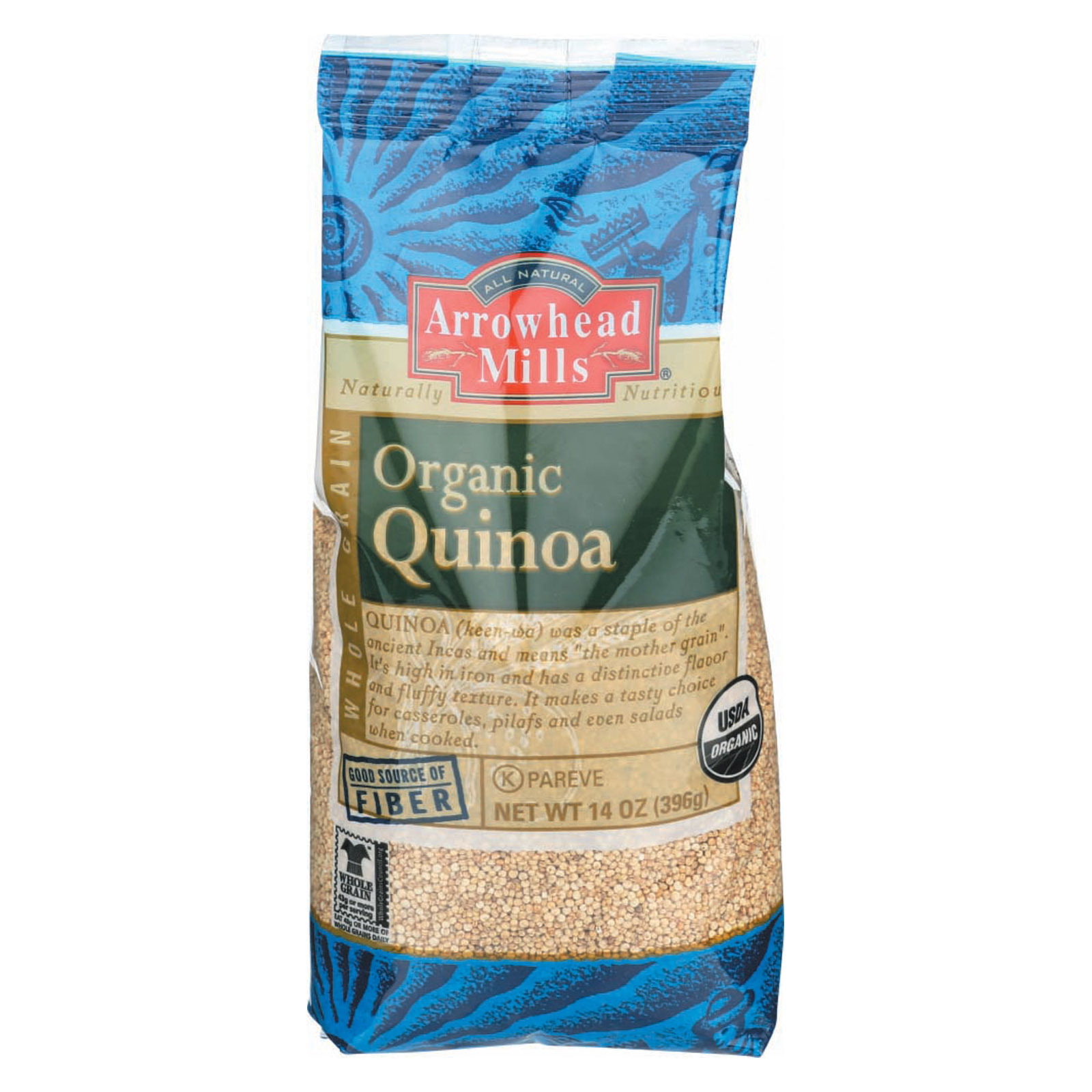 Arrowhead Mills Organic Quinoa - Case of 6 - 14 oz.
