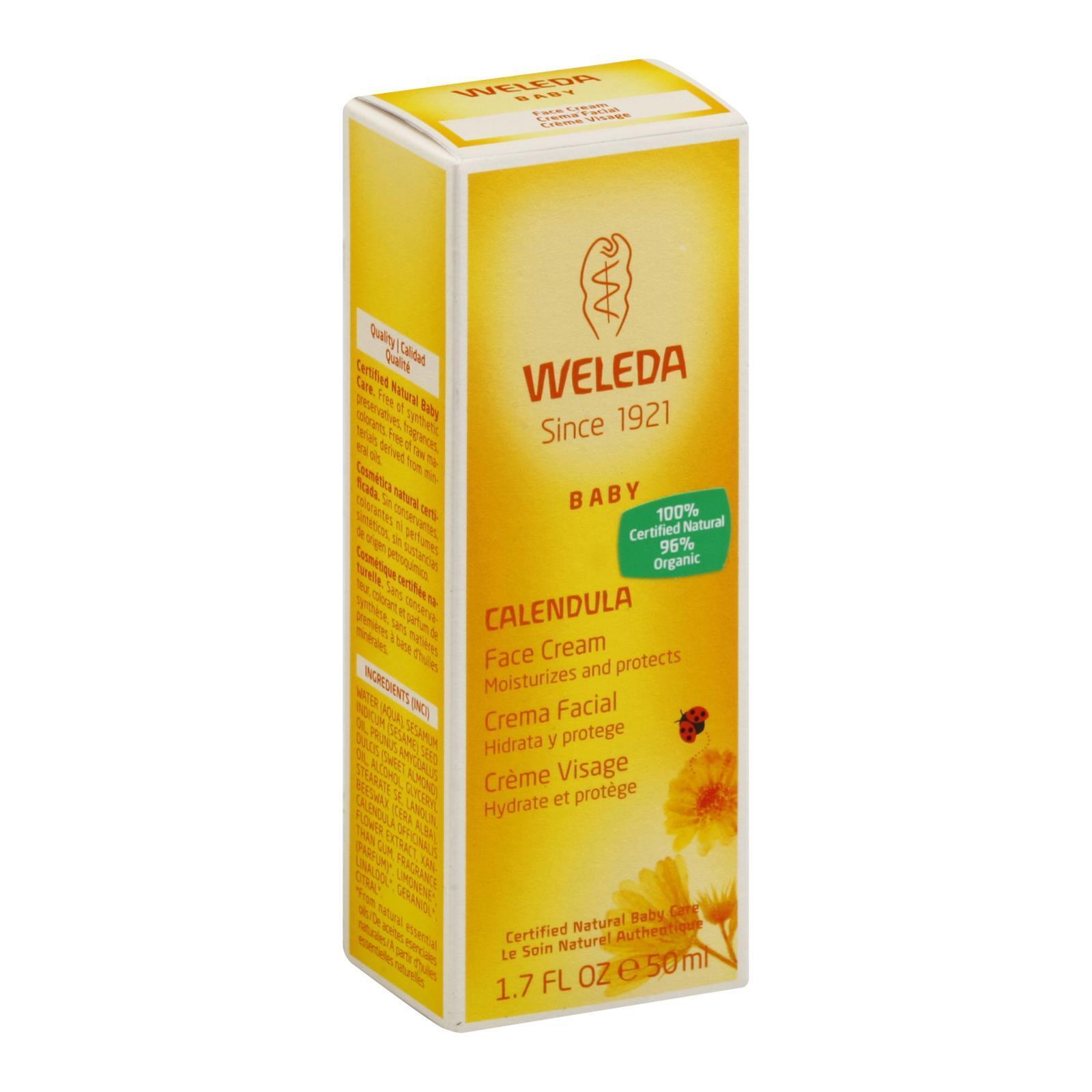 Weleda Calendula Face Cream - 1.7 fl oz