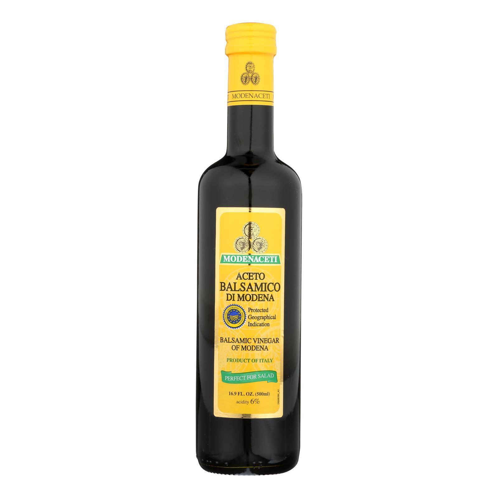 Modenaceti Balsamic Vinegar of Modena - Case of 6 - 16.9 Fl oz.