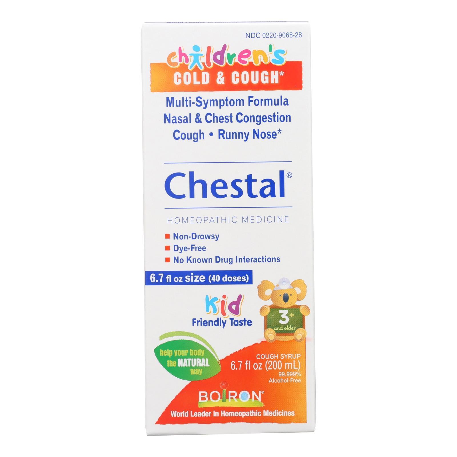 Boiron Children's Chestal Cough and Cold - 6.7 oz