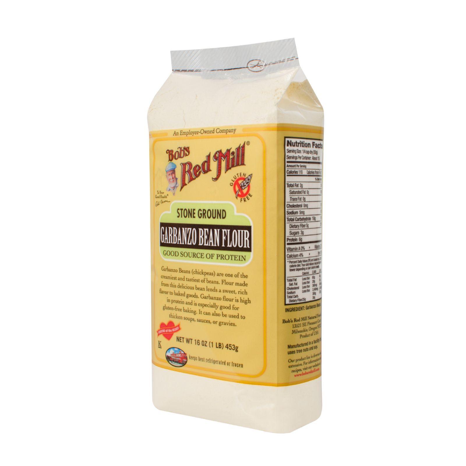 Bob's Red Mill Garbanzo Bean Flour - 16 oz - Case of 4