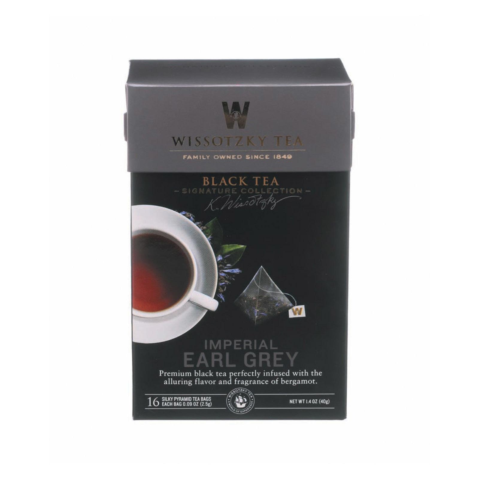 Wissotzky Tea - Imperial Earl Grey - Case of 6 - 16 BAG