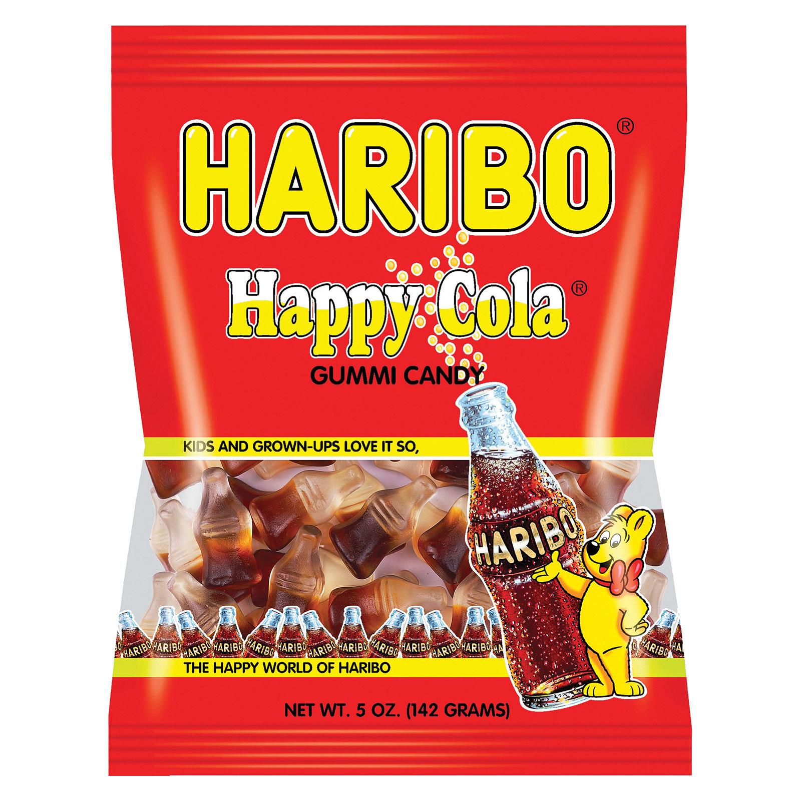 Haribo Happy Cola - Cola - Case of 12 - 5 oz.