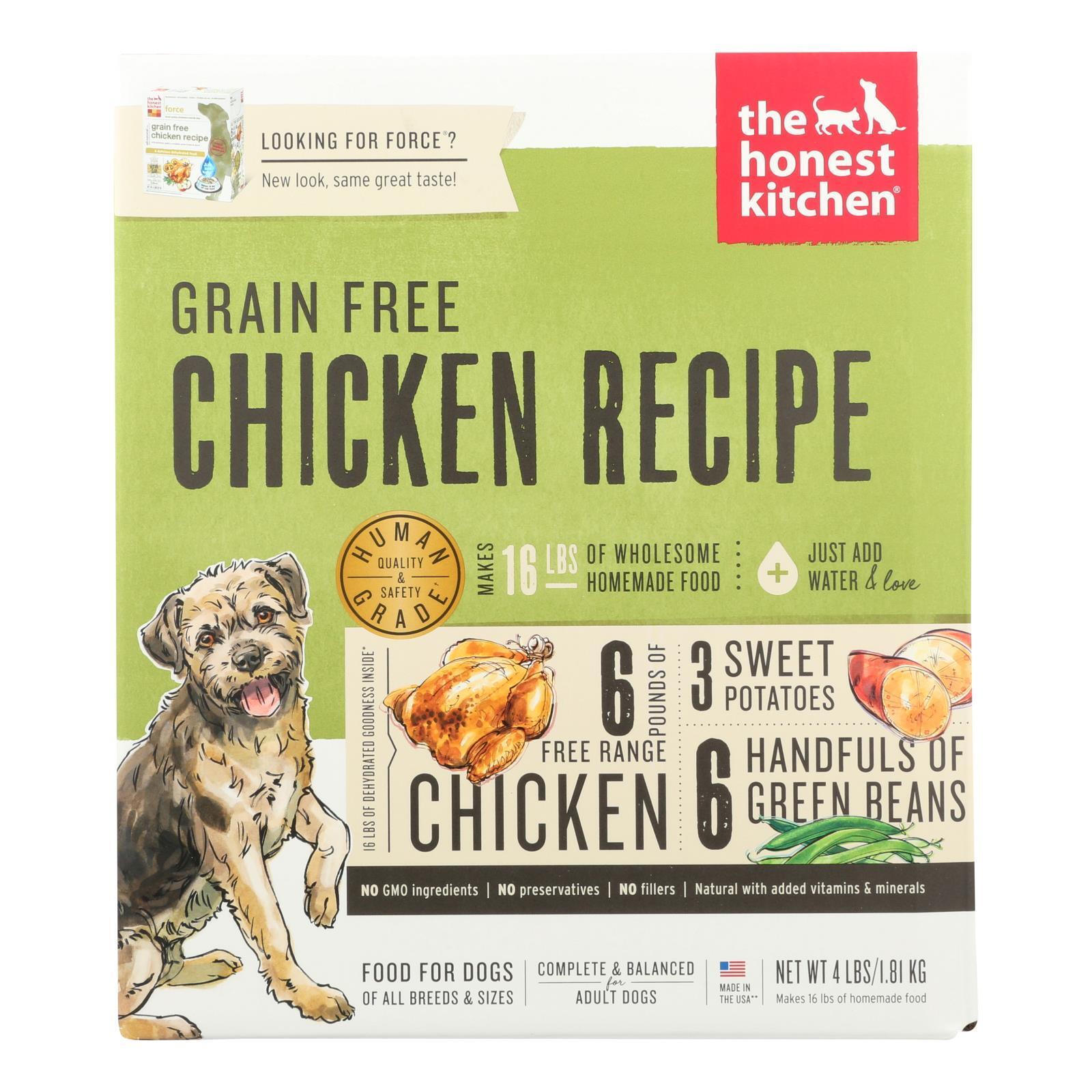 The Honest Kitchen Force - Grain Free Chicken Dog Food - 4 lb.