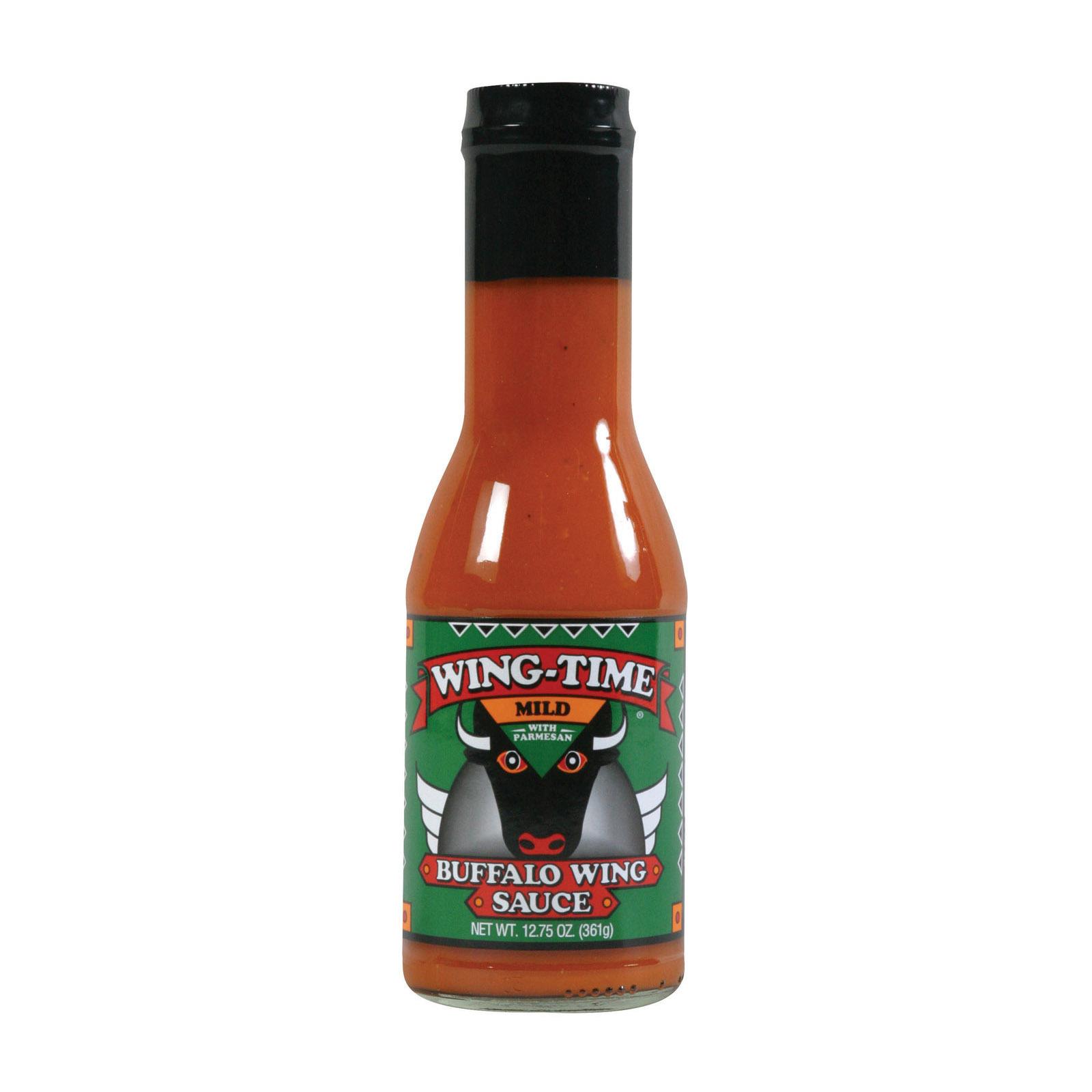 Wing Time Sauce - Mild - Case of 12 - 12.75 oz.