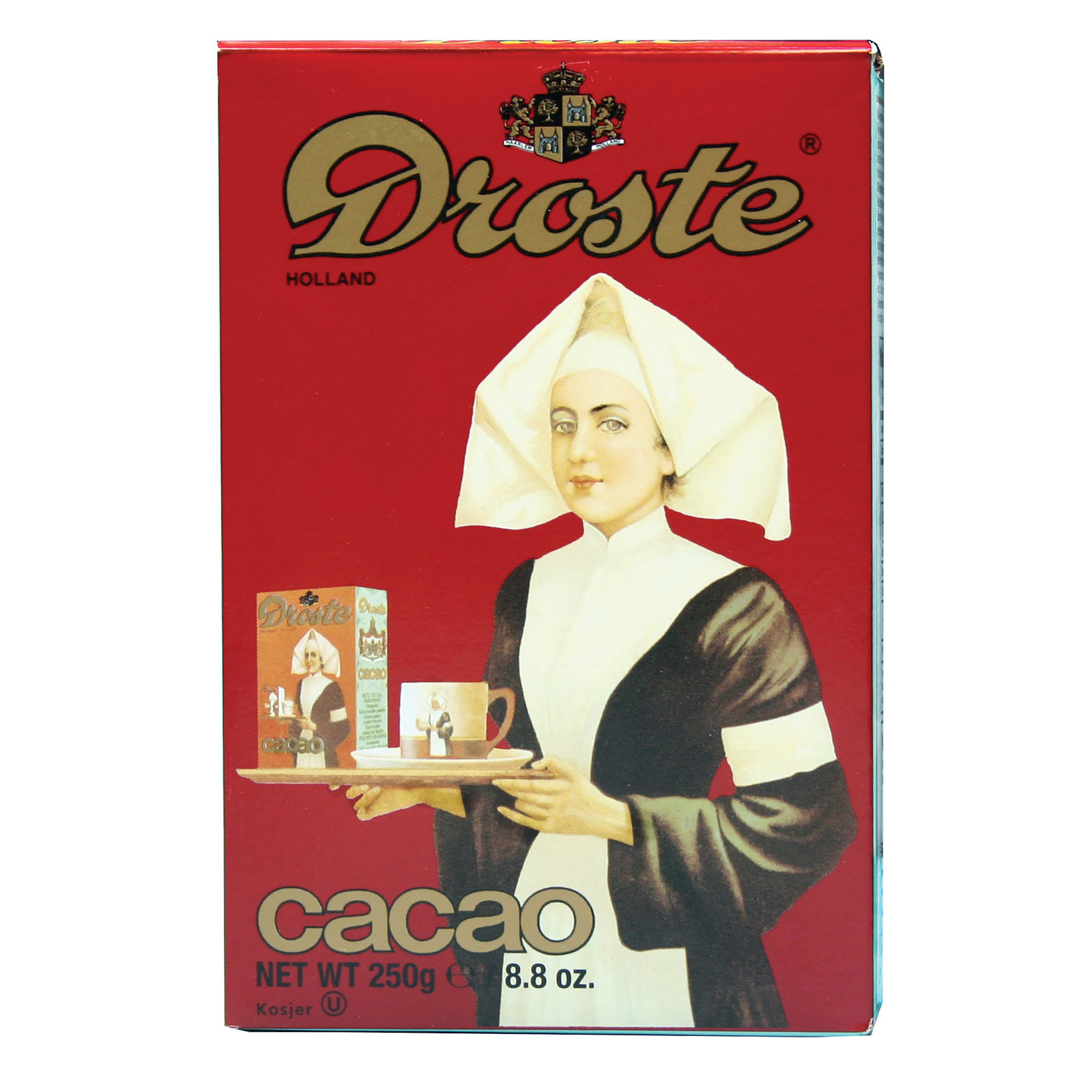 Droste Cocoa Powder - Import - Case of 12 - 8.8 oz