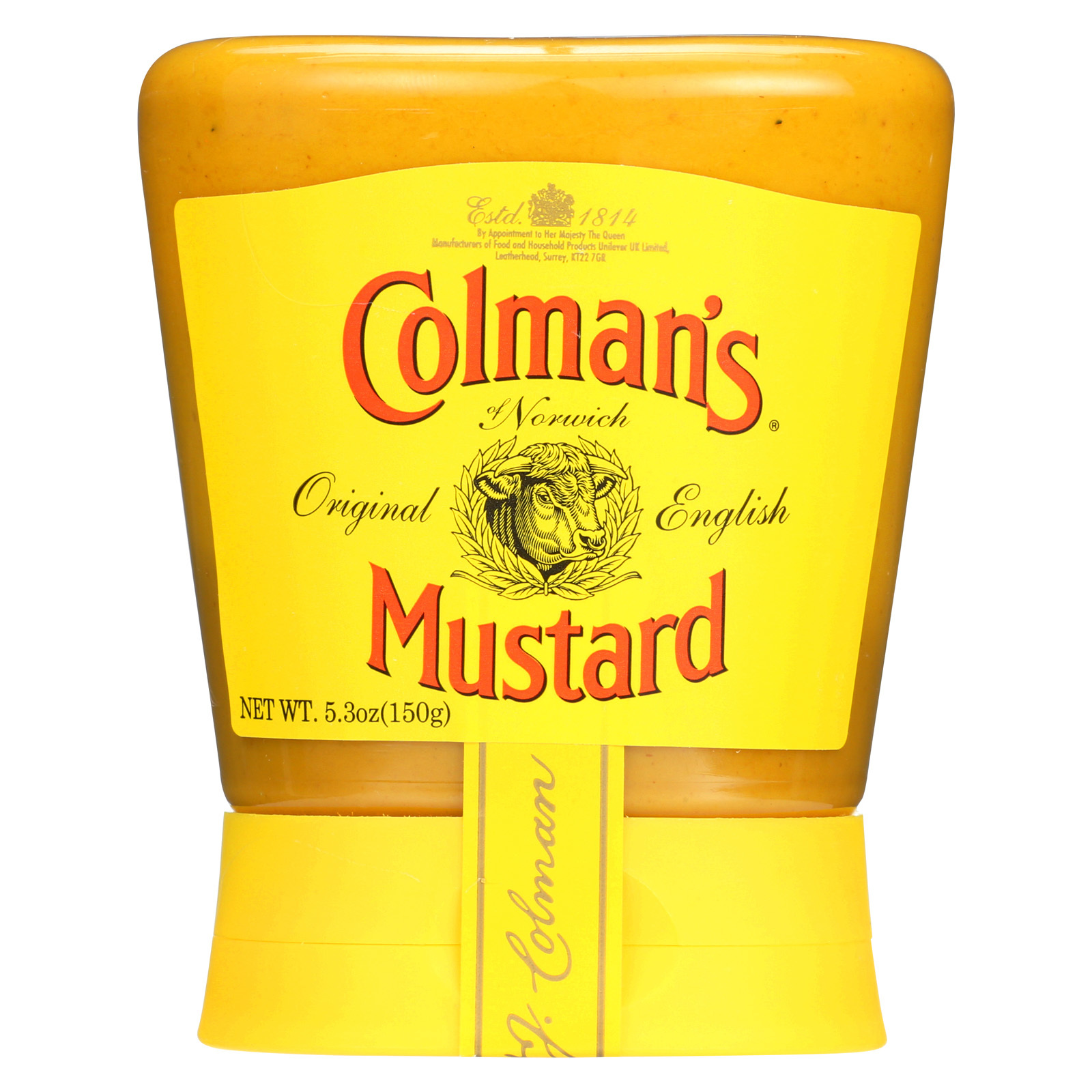 Colman Original English Mustard - Case of 6 - 5.3 oz.
