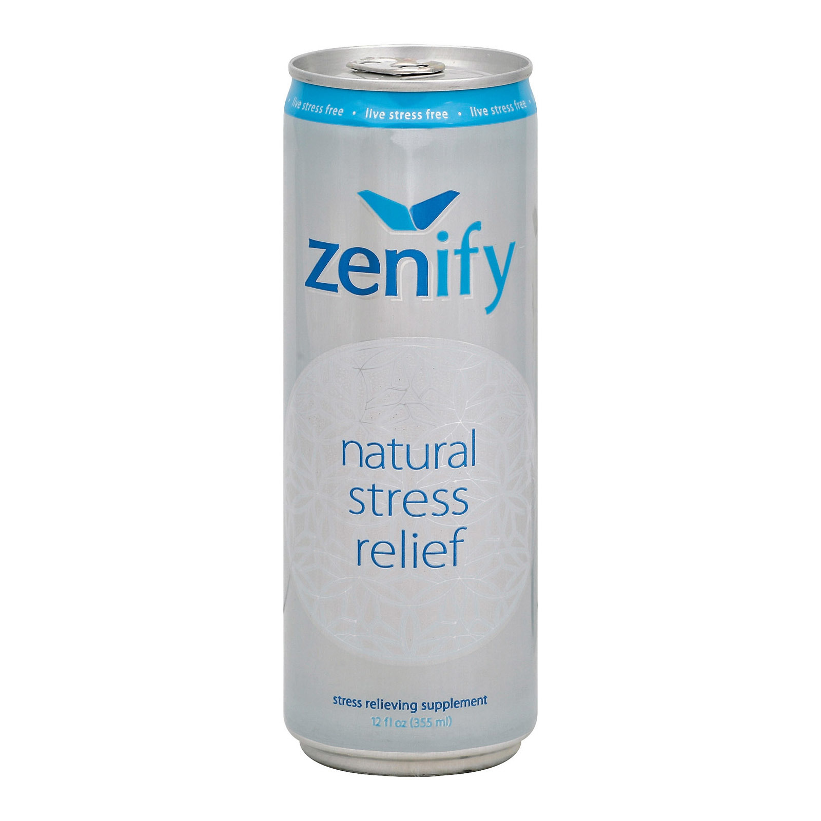 Zenify Stress Relief - Natural - Case of 12 - 12 Fl oz.