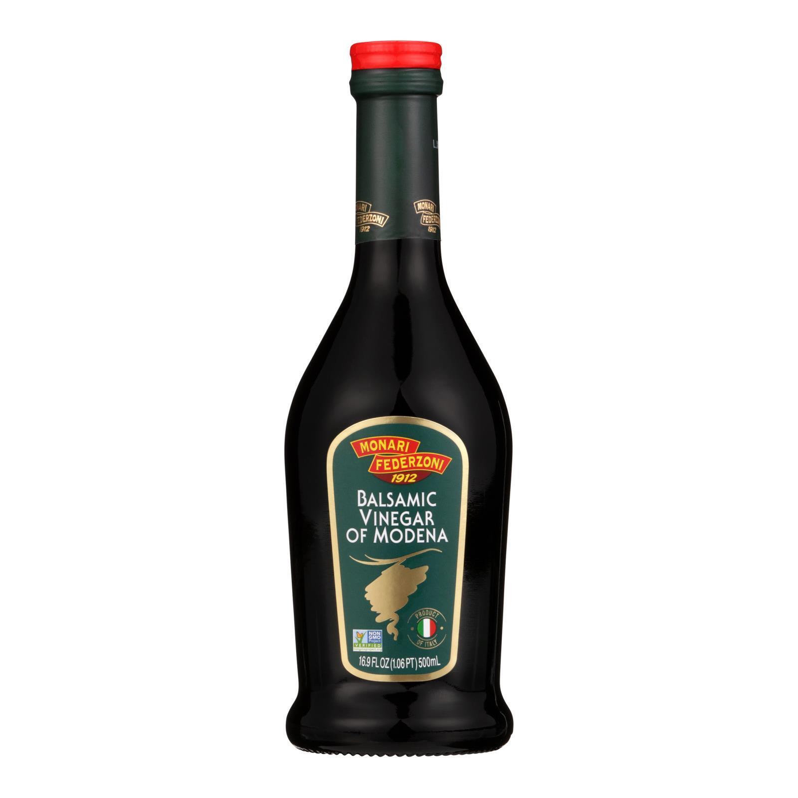 Monari Federzoni Balsamic Vinegar of Modena - Case of 6 - 16.9 Fl oz.