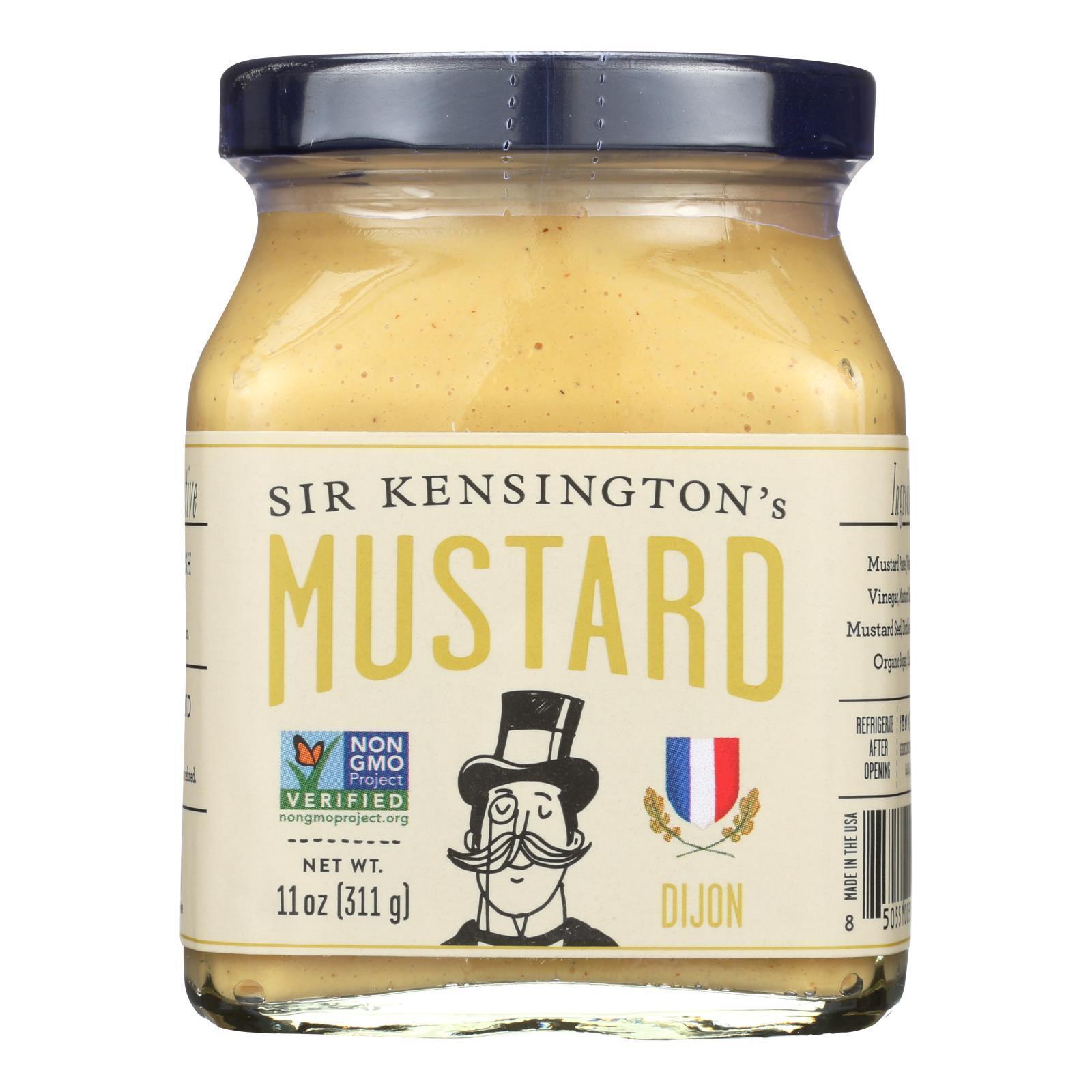 Sir Kensington's Dijon Mustard - Case of 6 - 11 oz.