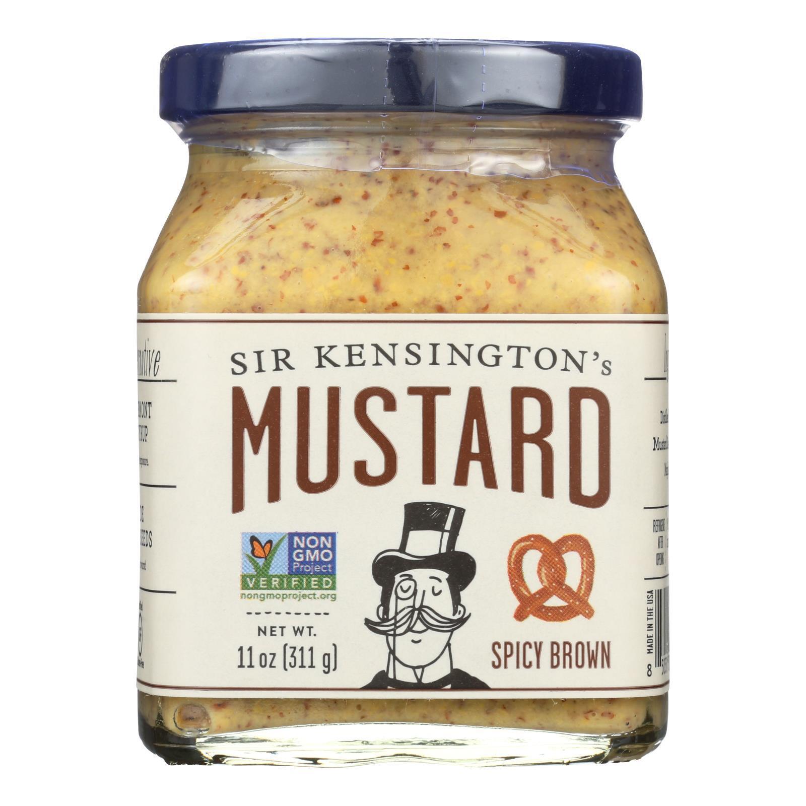Sir Kensington's Spicy Brown Mustard - Case of 6 - 11 oz.