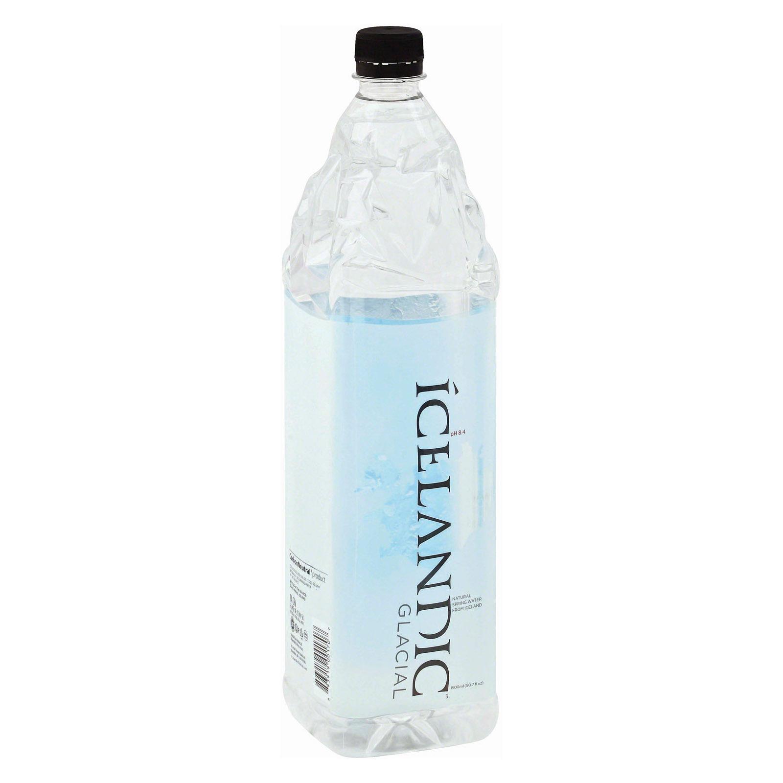 Icelandic Glacial Spring Water - Natural - Case of 12 - 50.7 Fl oz.