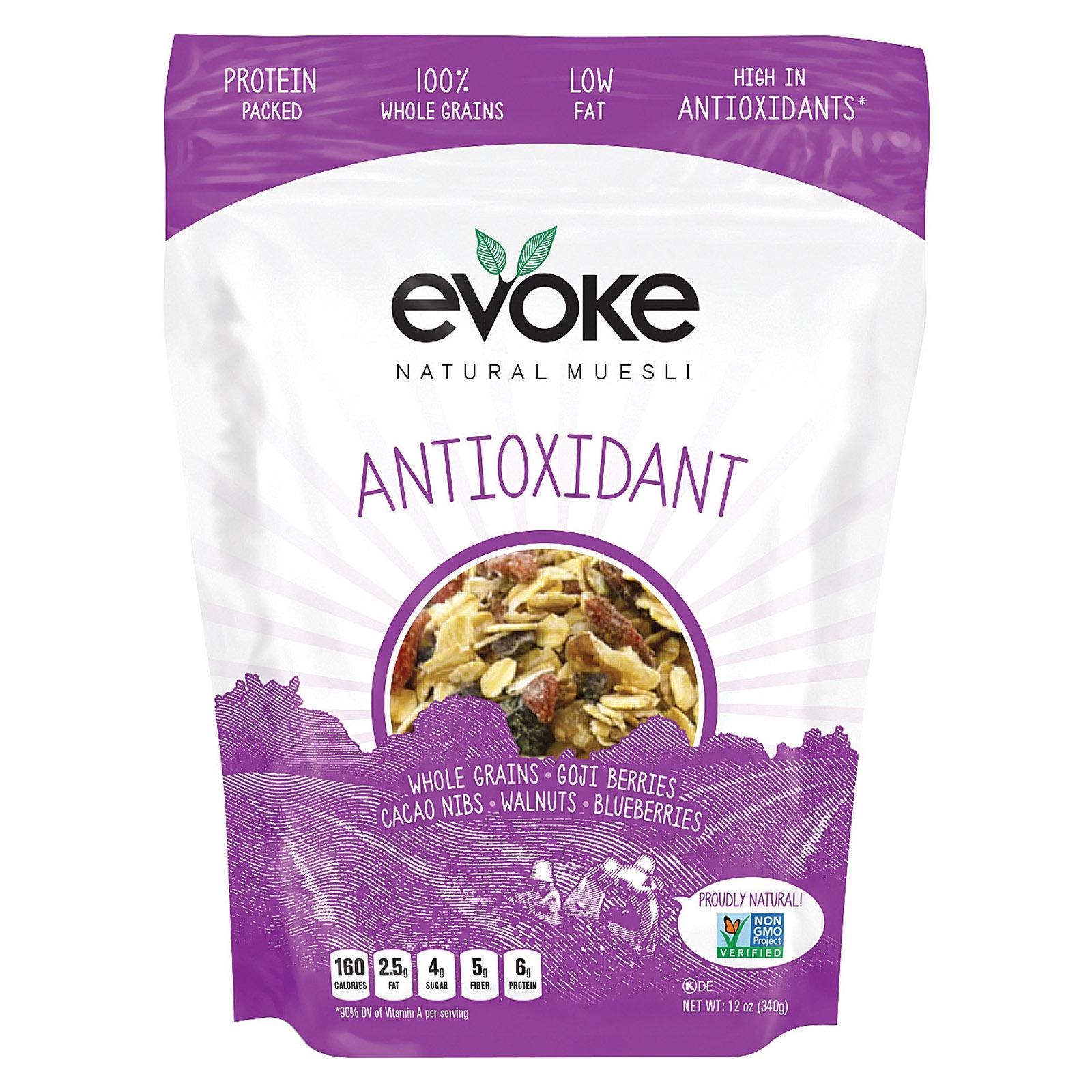 Evoke Healthy Foods Antioxidant Muesli - Muesli - Case of 6 - 12 oz.