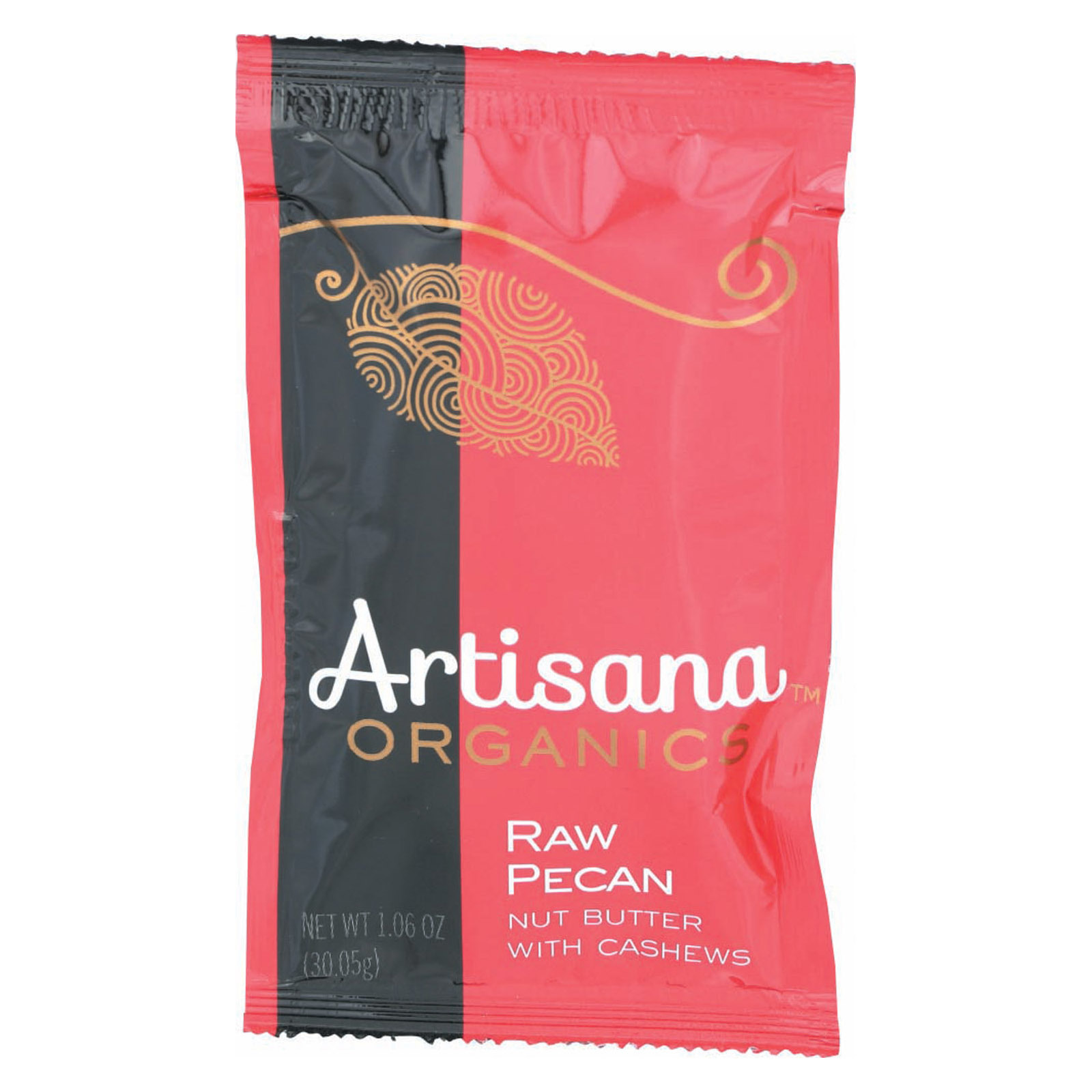 Artisana Butter - Pecan - Case of 10 - 1.06 oz.