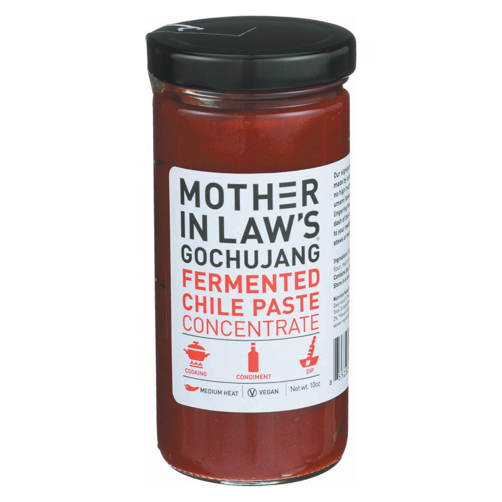 Mother-In-Law's Kimchi Fermented Chile Paste - Case of 6 - 10 oz.