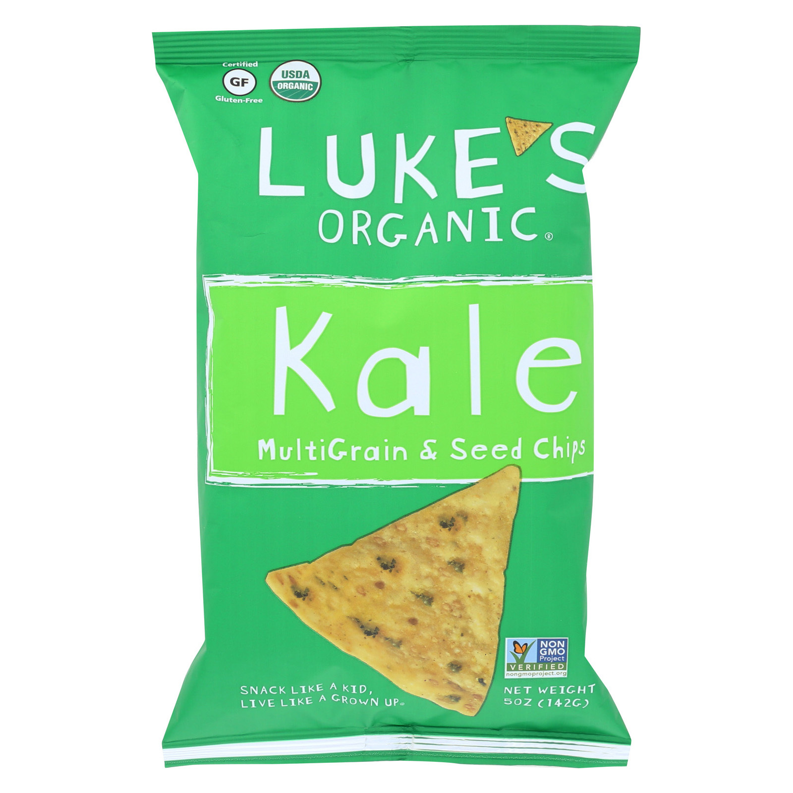 Luke's Organic Kale - Case of 12 - 5 oz.