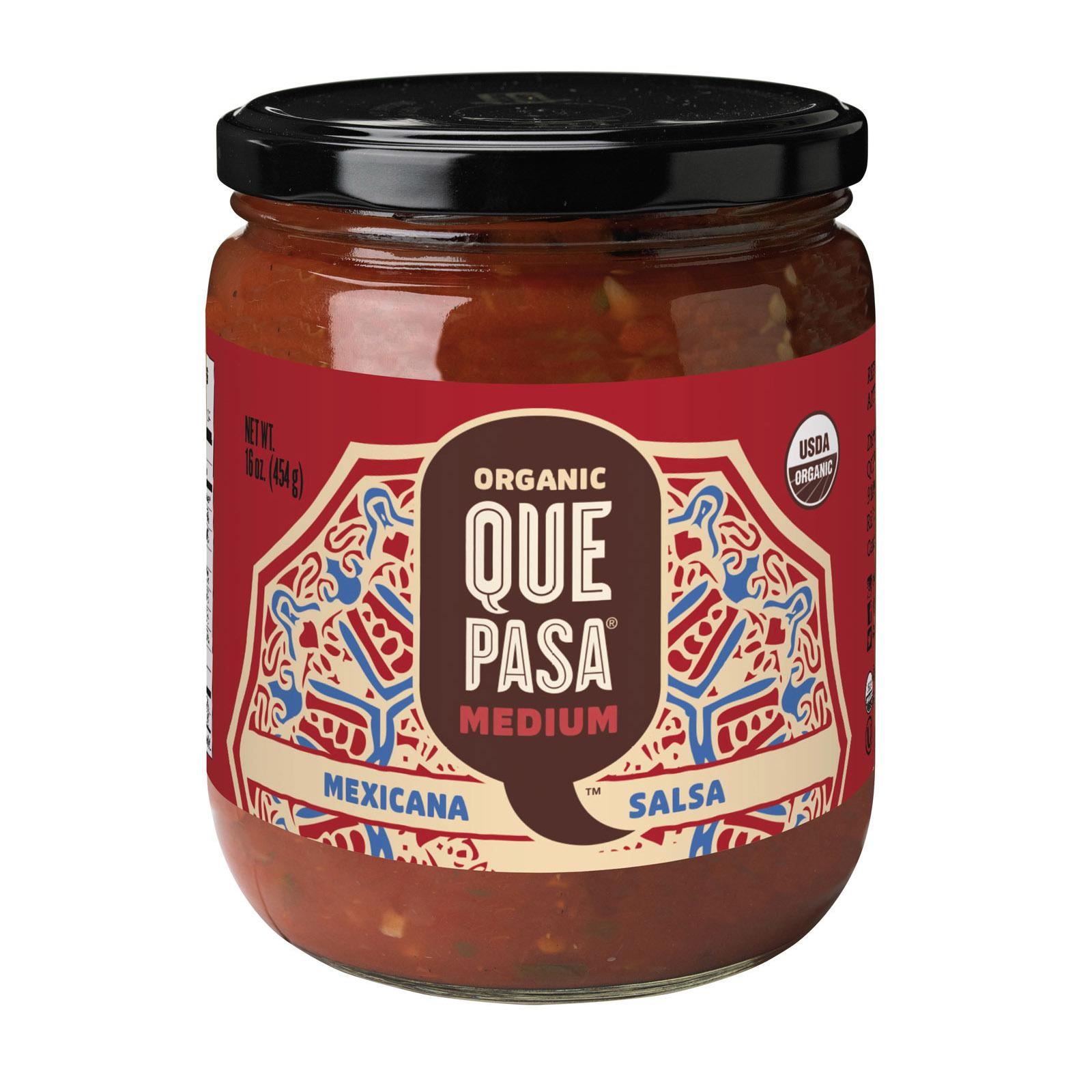 Que Pasa Mexicana Salsa - Medium - Case of 12 - 16 oz.