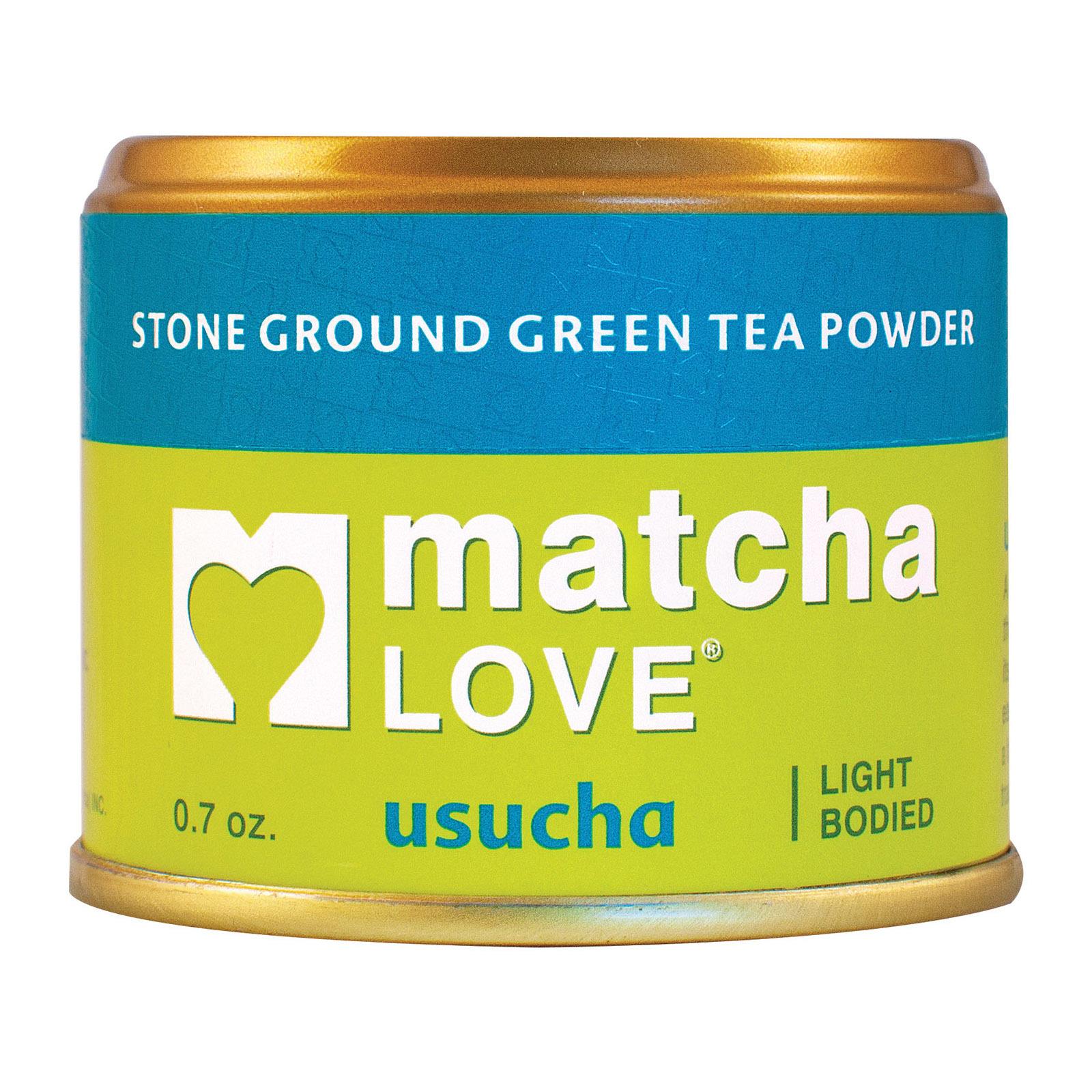 Matcha Love Green Tea Powder - Light Bodied - Case of 10 - 0.7 oz.